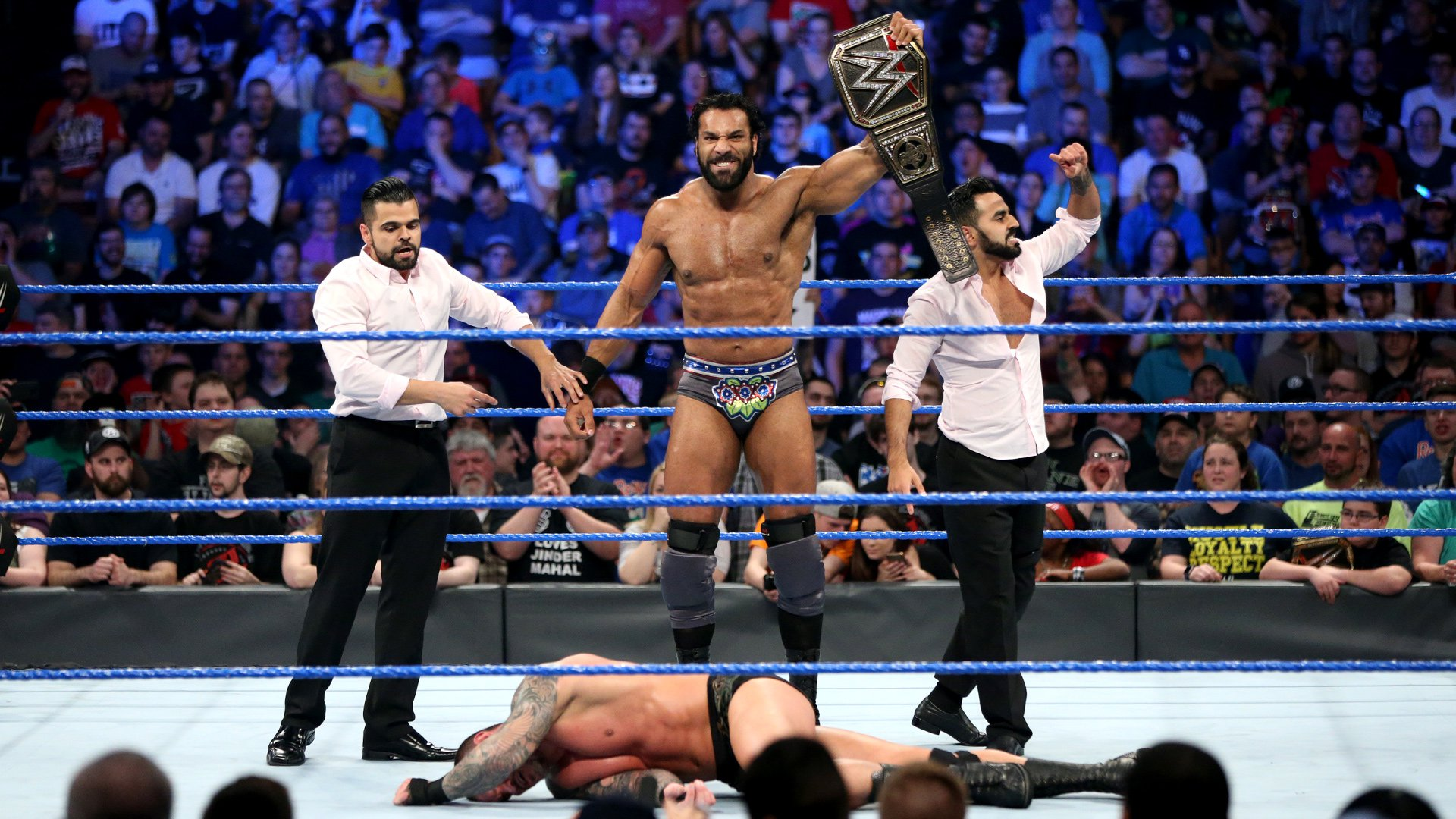 Mahal challenges Orton for the WWE Title this Sunday at WWE Backlash.