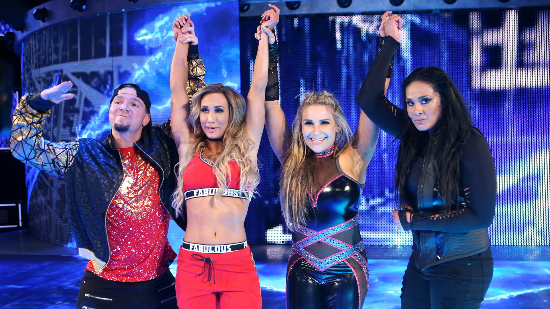 """The """"Welcoming Committee"""" pulls away with an impressive victory at WWE Backlash."""