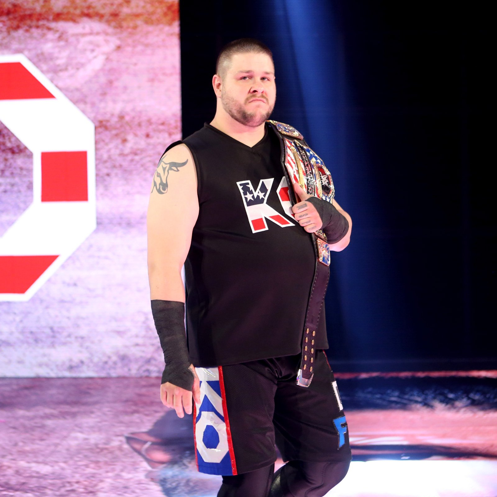 "United States Champion Kevin Owens has no intention to relinquish his status as ""The New Face of America."""