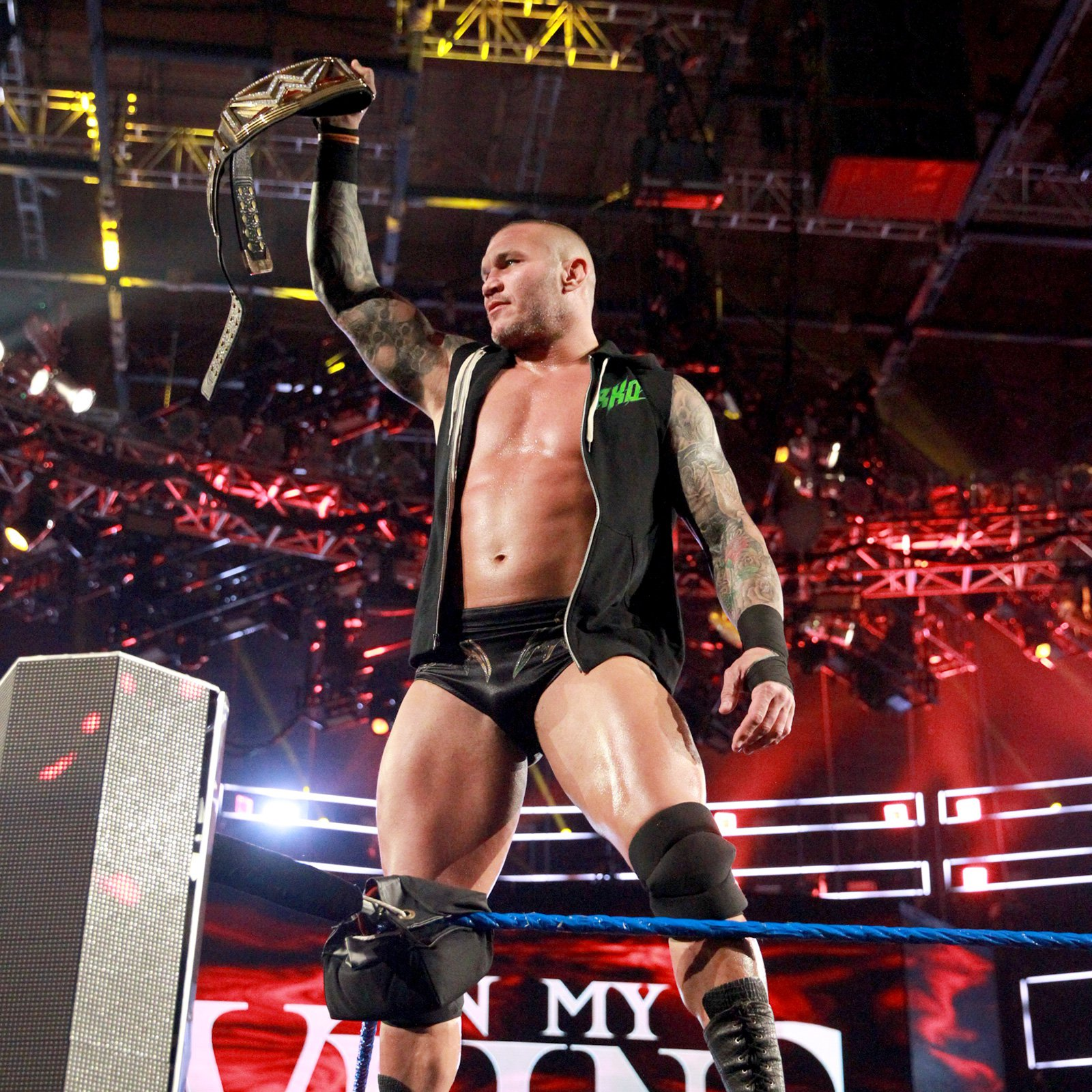 WWE Champion Randy Orton is prepared to defend his title at all costs.