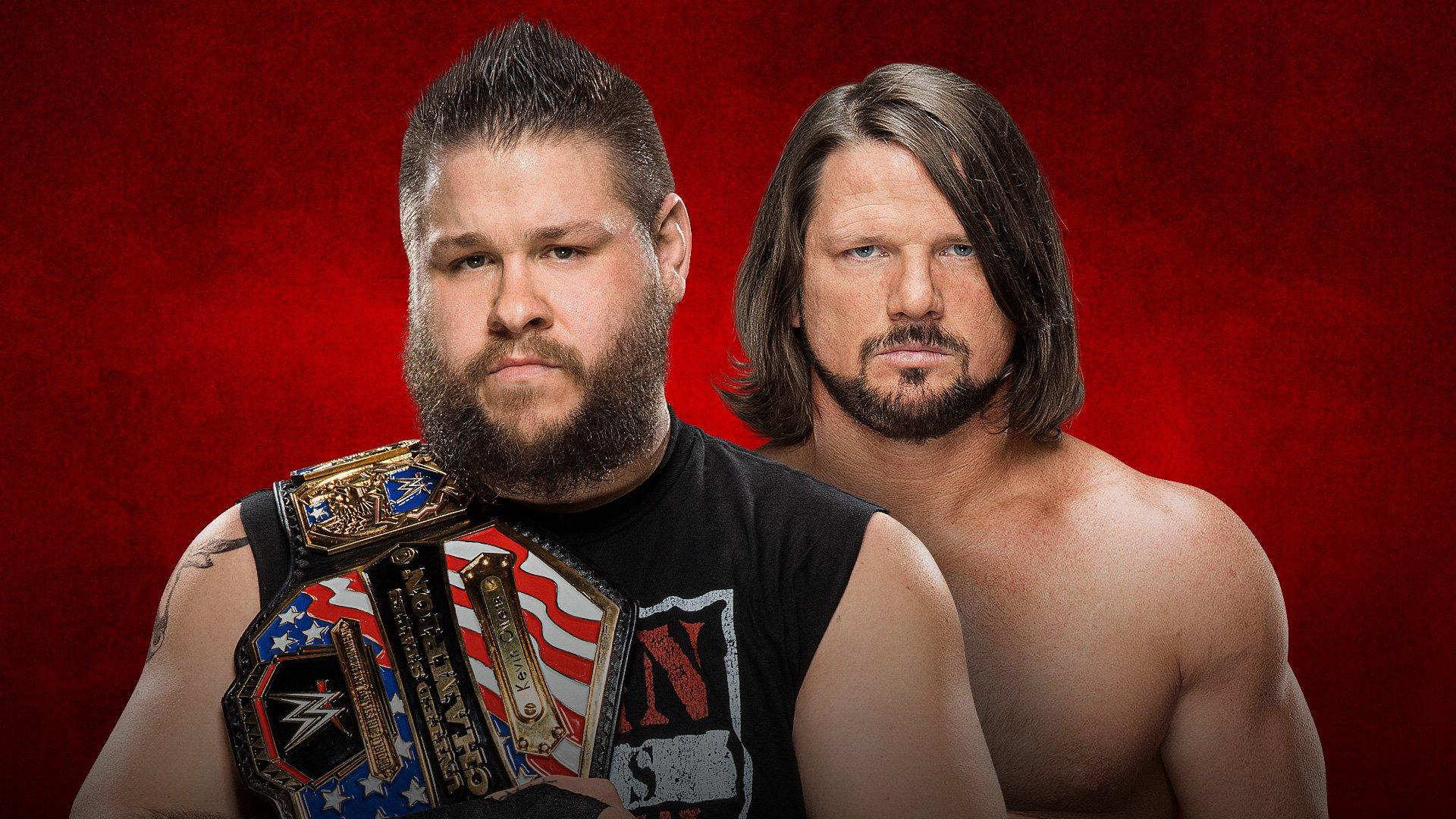 WWE Backlash 2017: Kevin Owens vs. AJ Styles