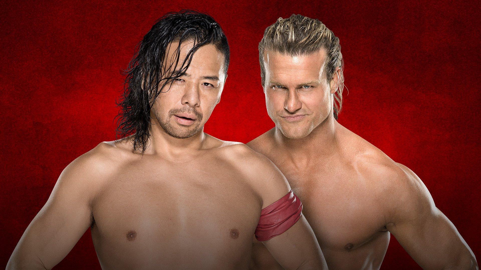 WWE Backlash: Shinsuke Nakamura vs. Dolph Ziggler