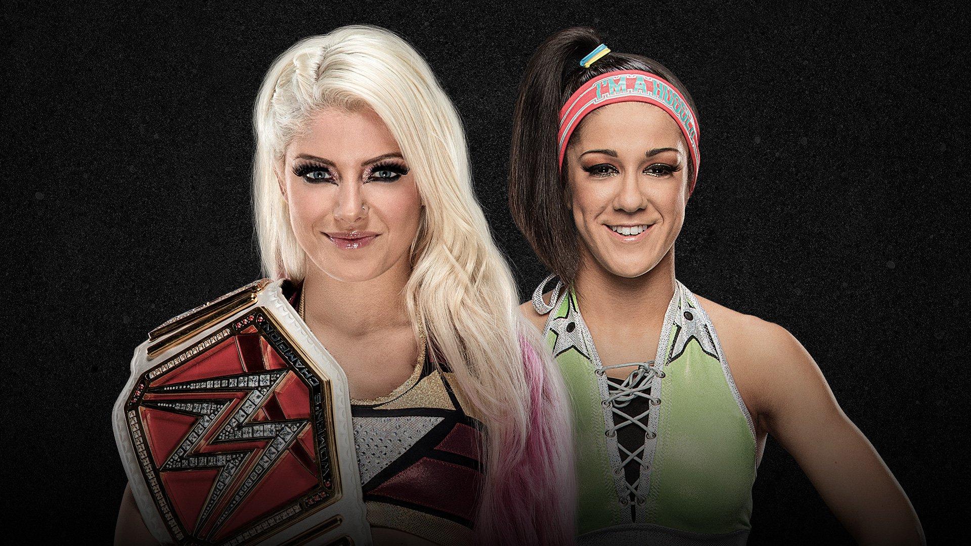 WWE Extreme Rules 2017: Alexa Bliss vs. Bayley