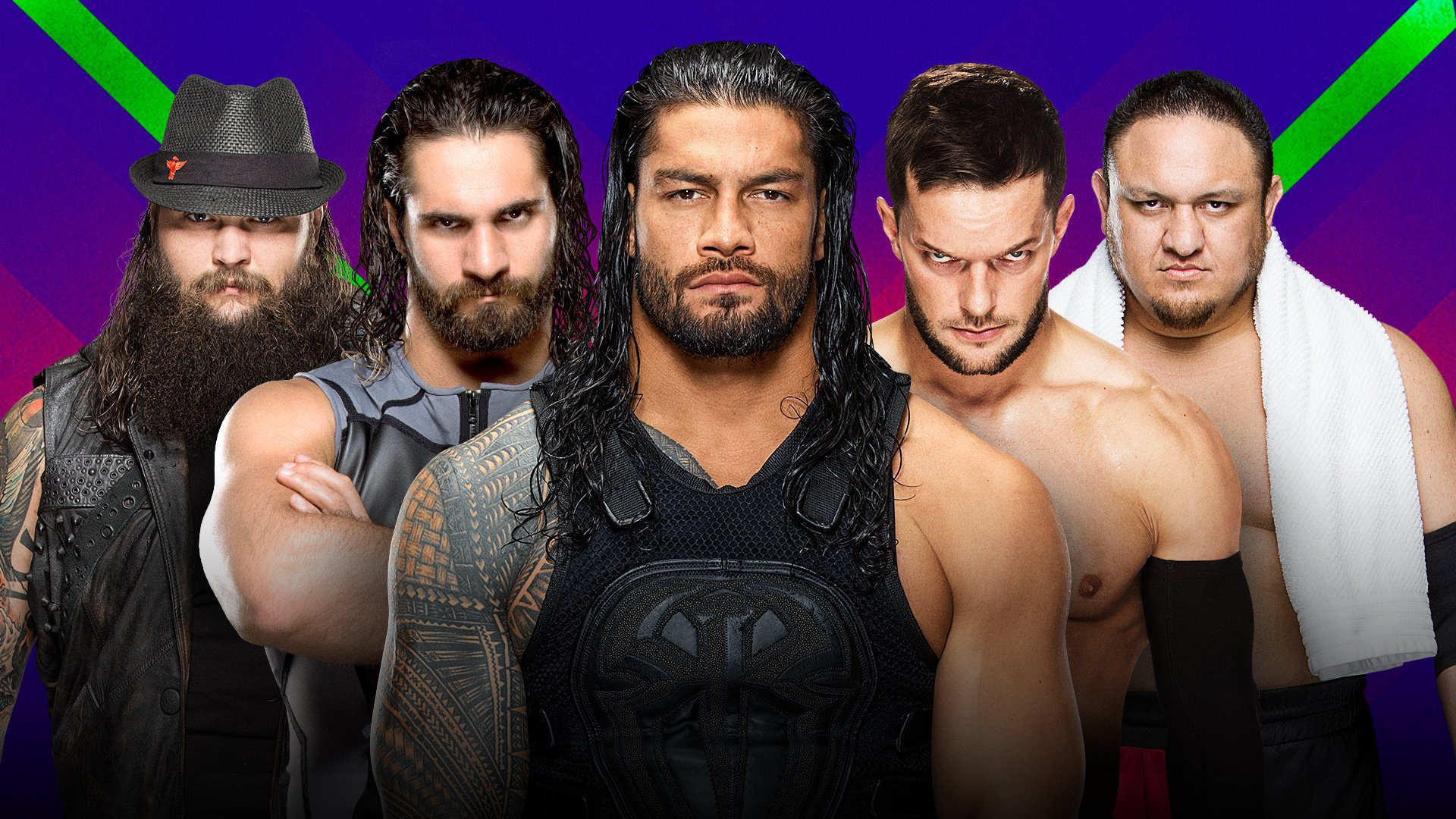 WWE Extreme Rules 2017: Bray Wyatt vs. Seth Rollins vs. Roman Reigns vs. Finn Bálor vs. Samoa Joe