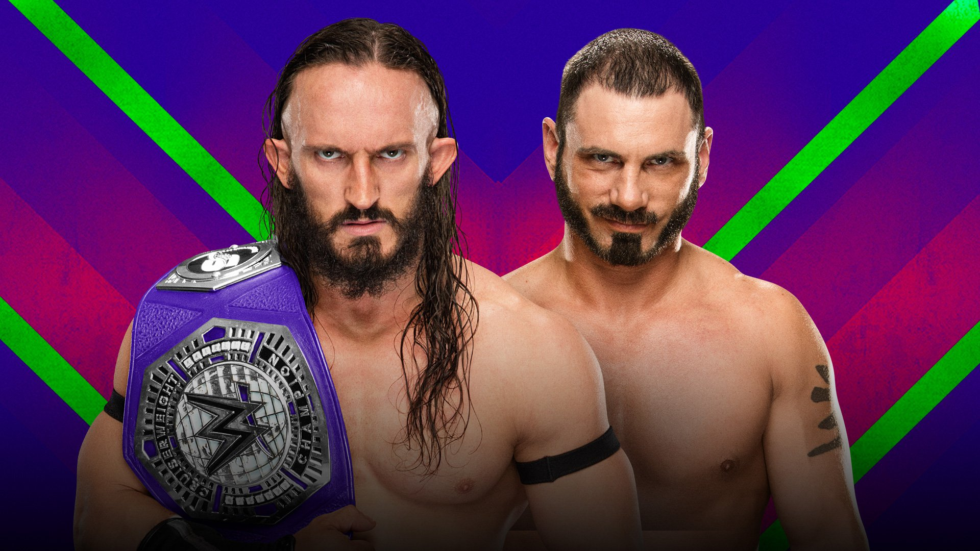 WWE Extreme Rules 2017: Neville vs. Austin Aries
