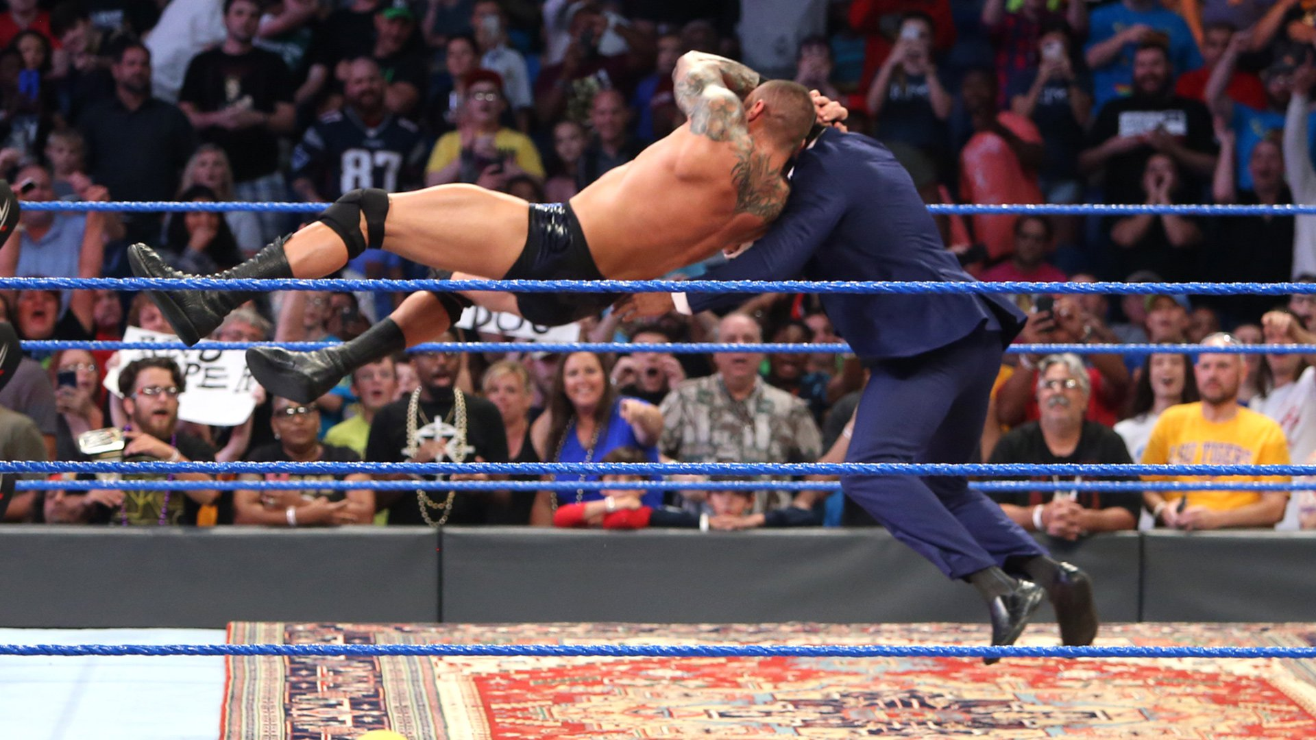 Randy Orton and Jinder Mahal come face to face before WWE Money in the Bank: photos