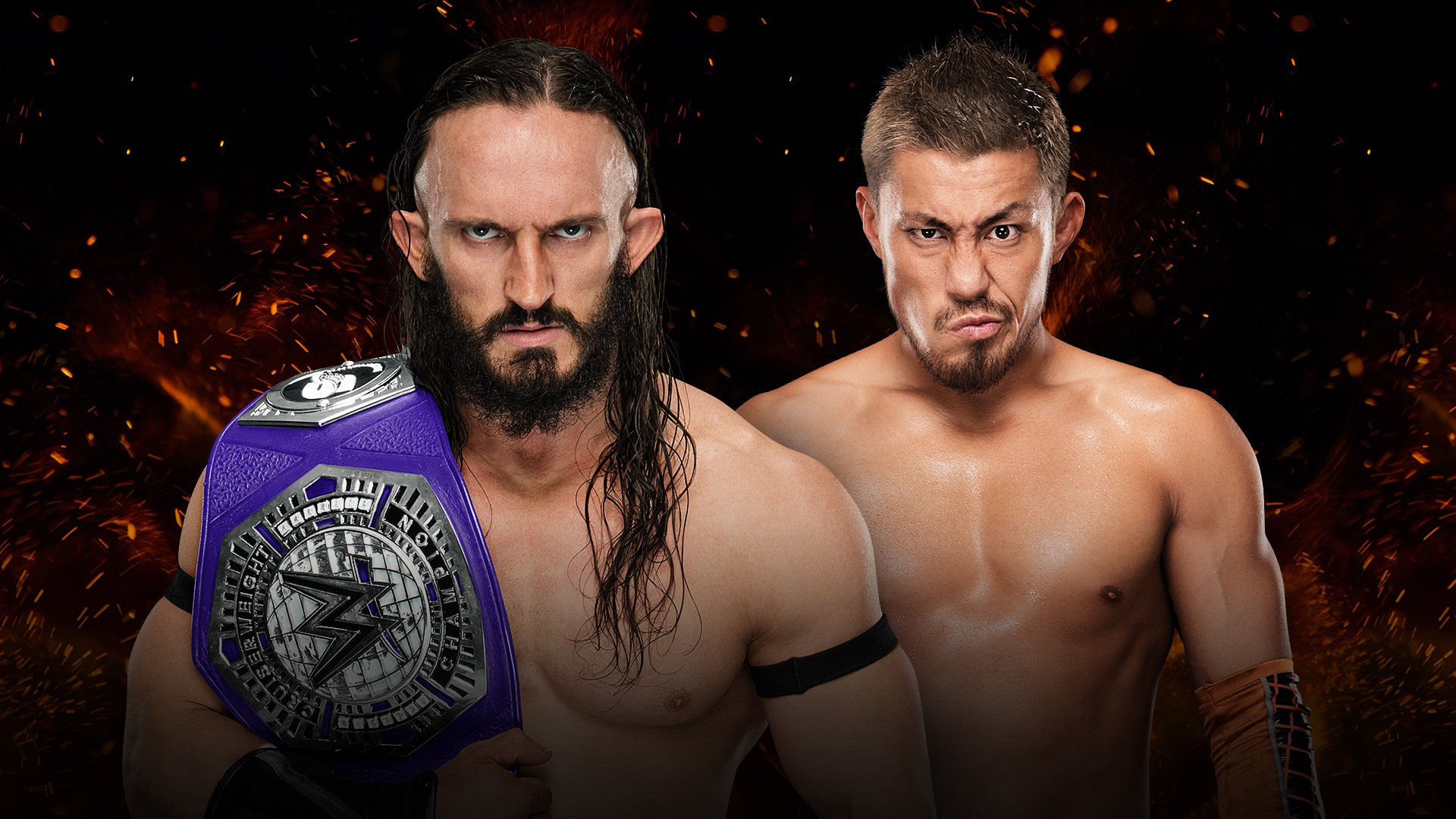 WWE Great Balls of Fire 2017: Neville vs. Akira Tozawa