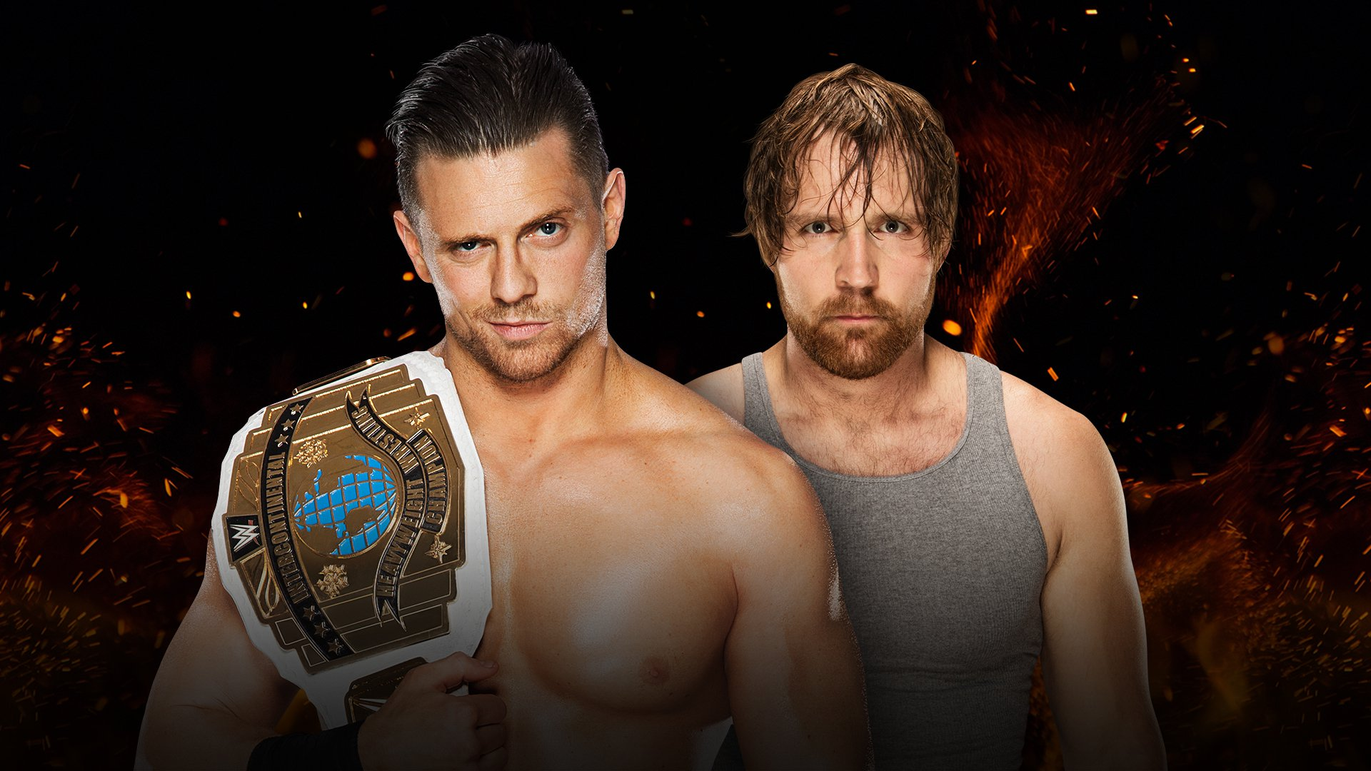 WWE Great Balls of Fire 2017: The Miz vs. Dean Ambrose
