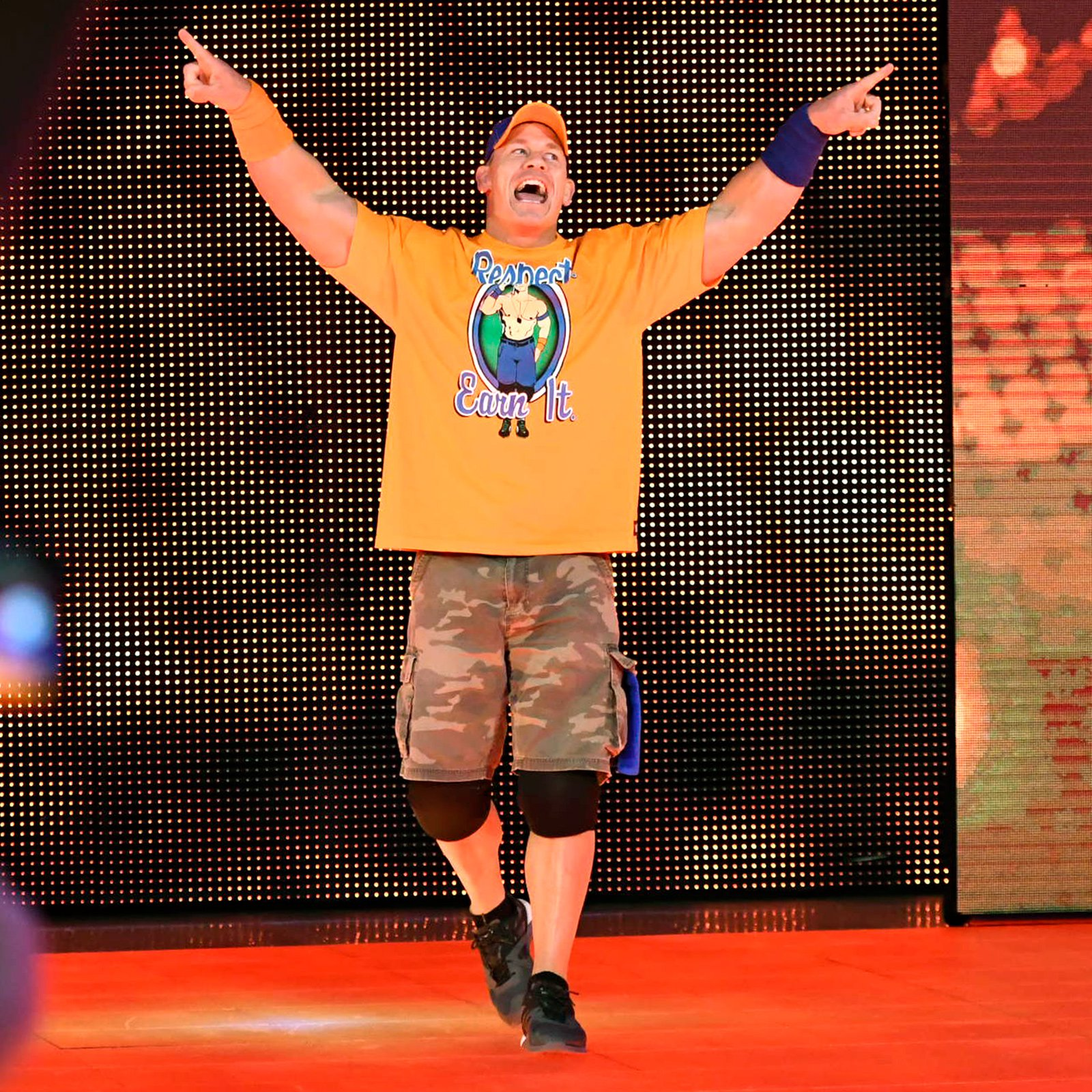 ... and John Cena hits the scene to answer the call!