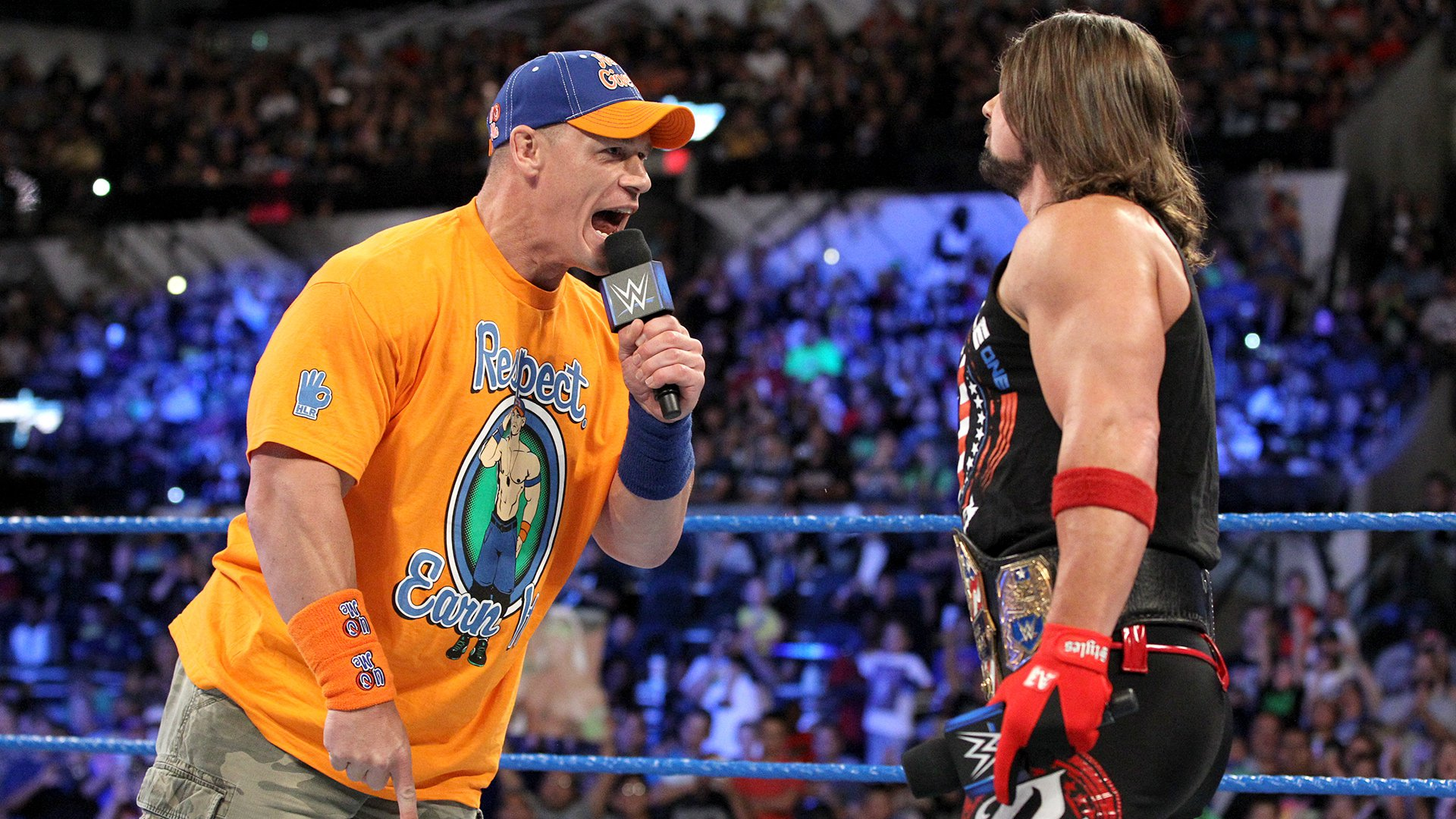Cena challenges Styles for the title...