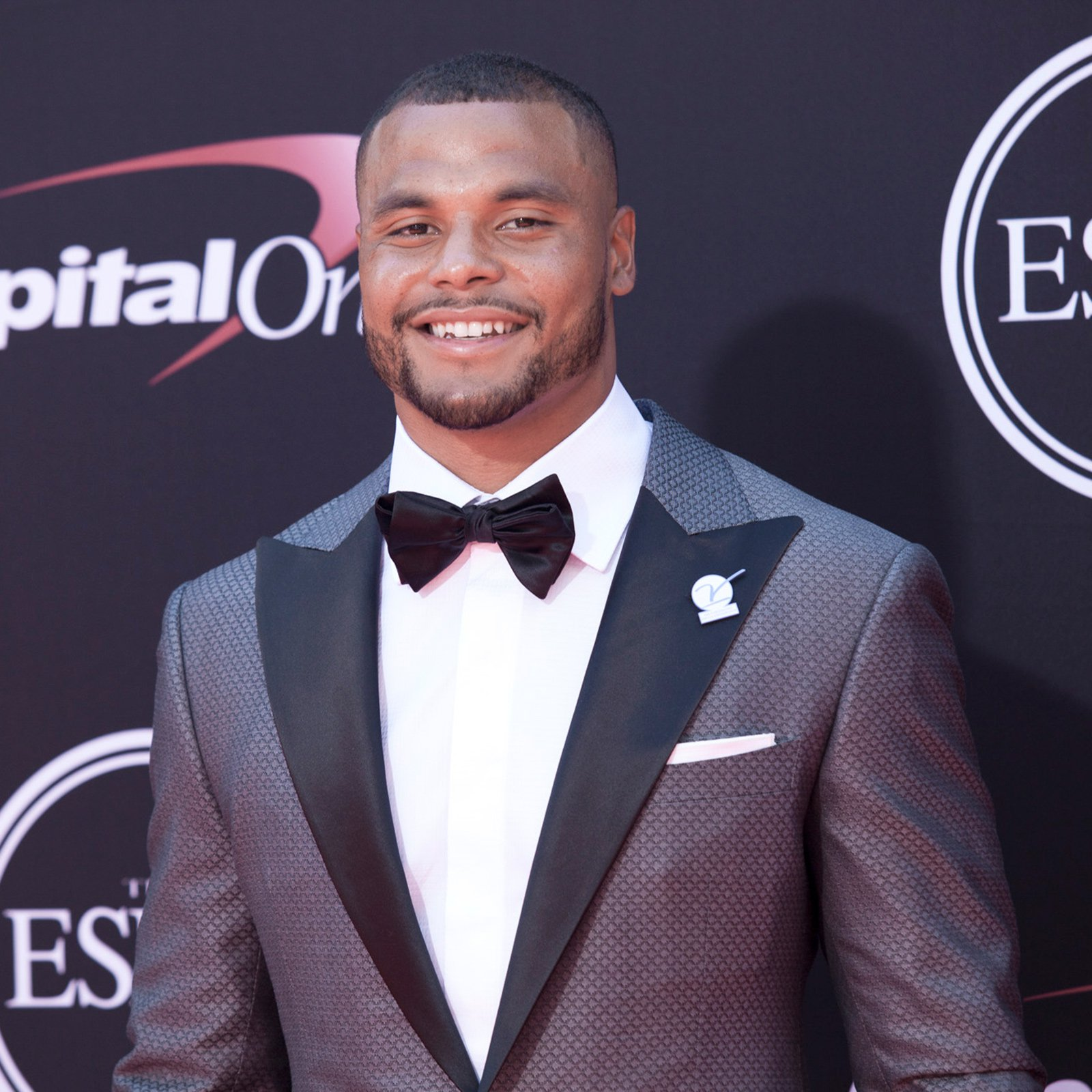 Dallas Cowboys quarterback Dak Prescott, ESPY winner for Breakthrough Athlete.