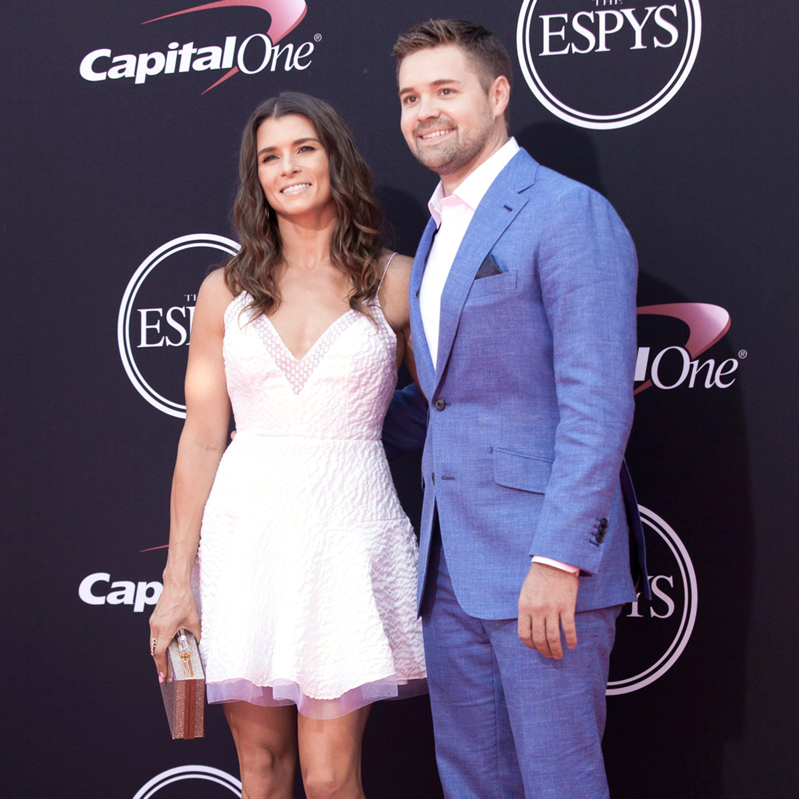 Danica Patrick and fellow NASCAR driver and boyfriend, Ricky Stenhouse Jr.