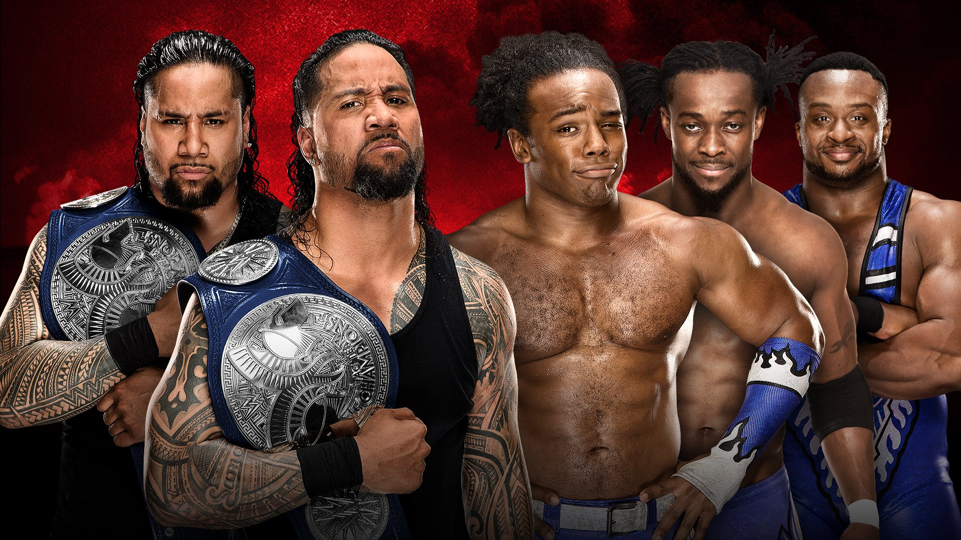 WWE Battleground 2017: The Usos vs. The New Day