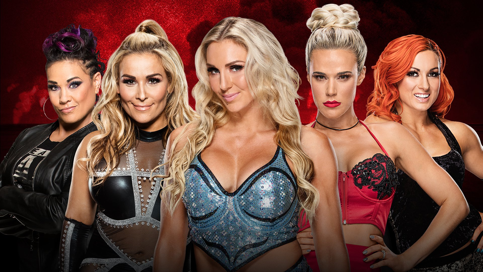 WWE Battleground 2017: Tamina vs. Natalya vs. Charlotte vs. Lana vs. Becky Lynch