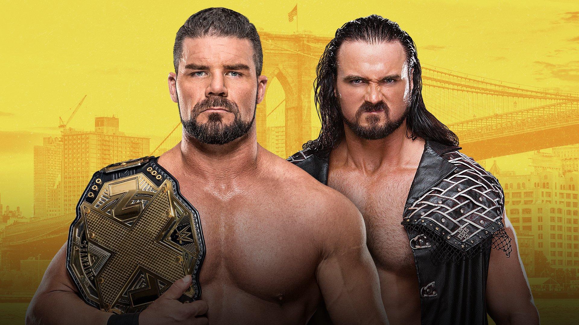 NXT TakeOver - Brooklyn III: Bobby Roode vs. Drew McIntyre