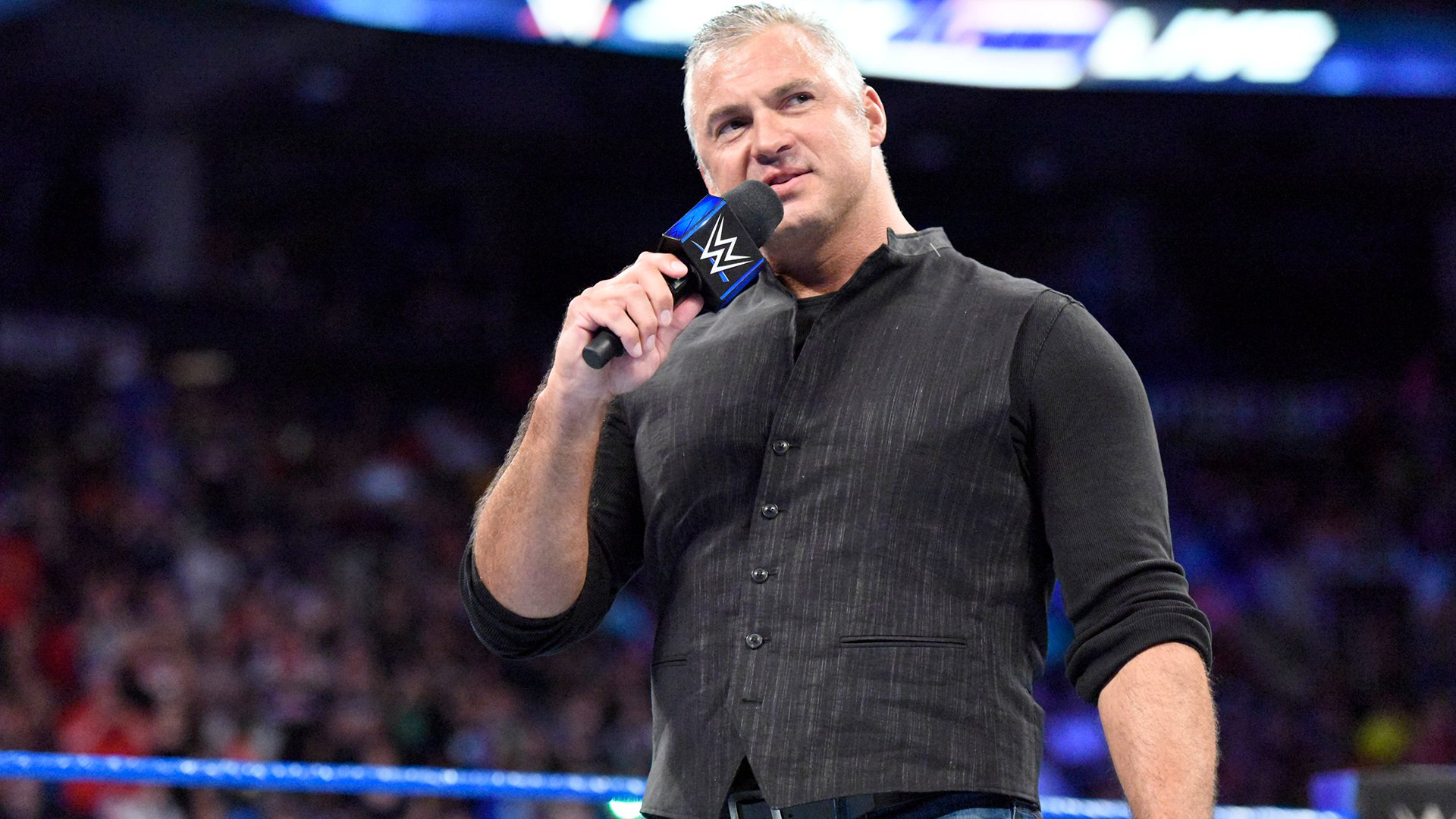 """... and prepares to give his """"Rules of Engagement"""" for when he serves as the Special Guest Referee when AJ Styles defends the U.S. Title against Kevin Owens at SummerSlam."""