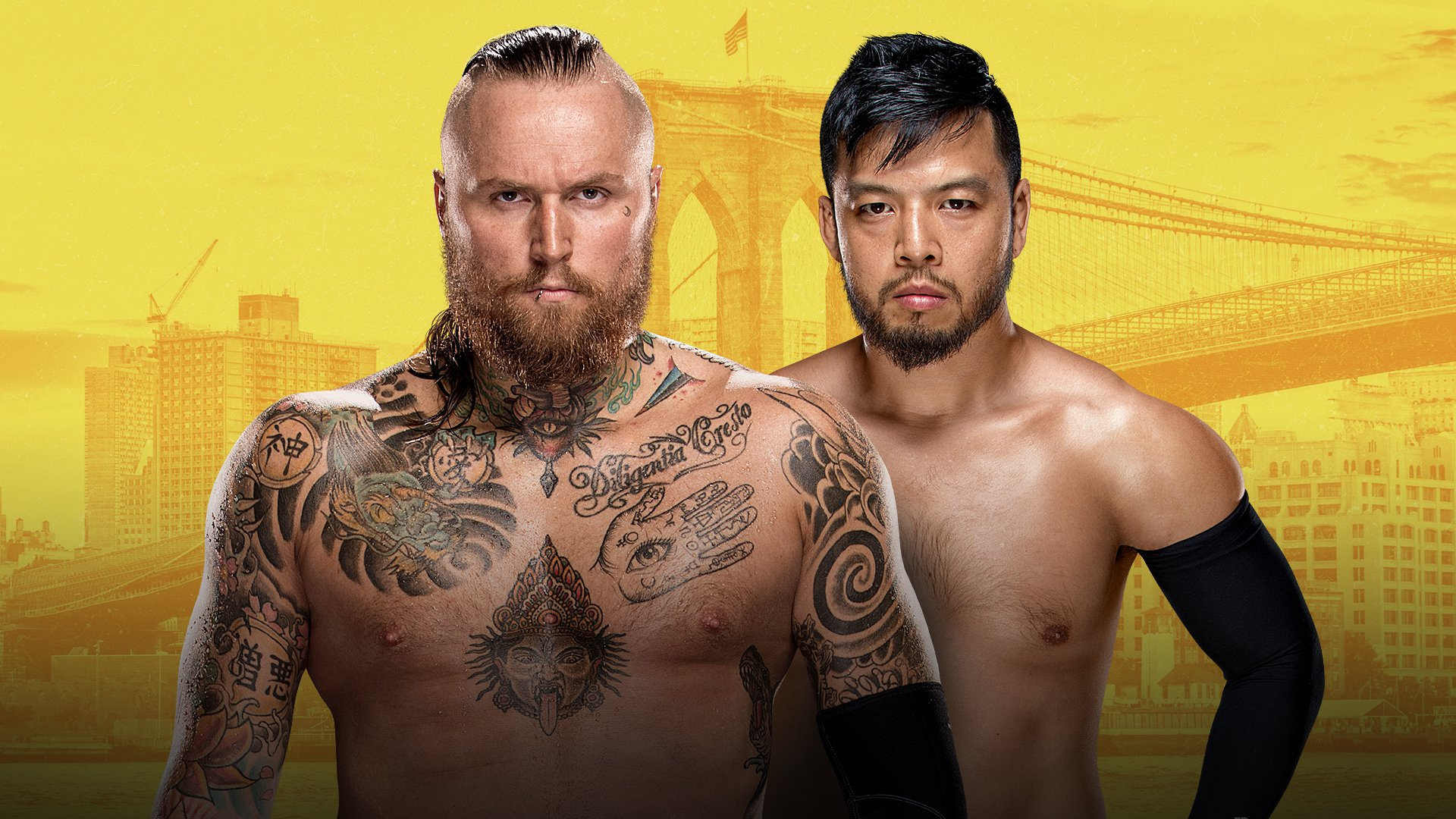 NXT TakeOver - Brooklyn III: Aleister Black vs. Hideo Itami
