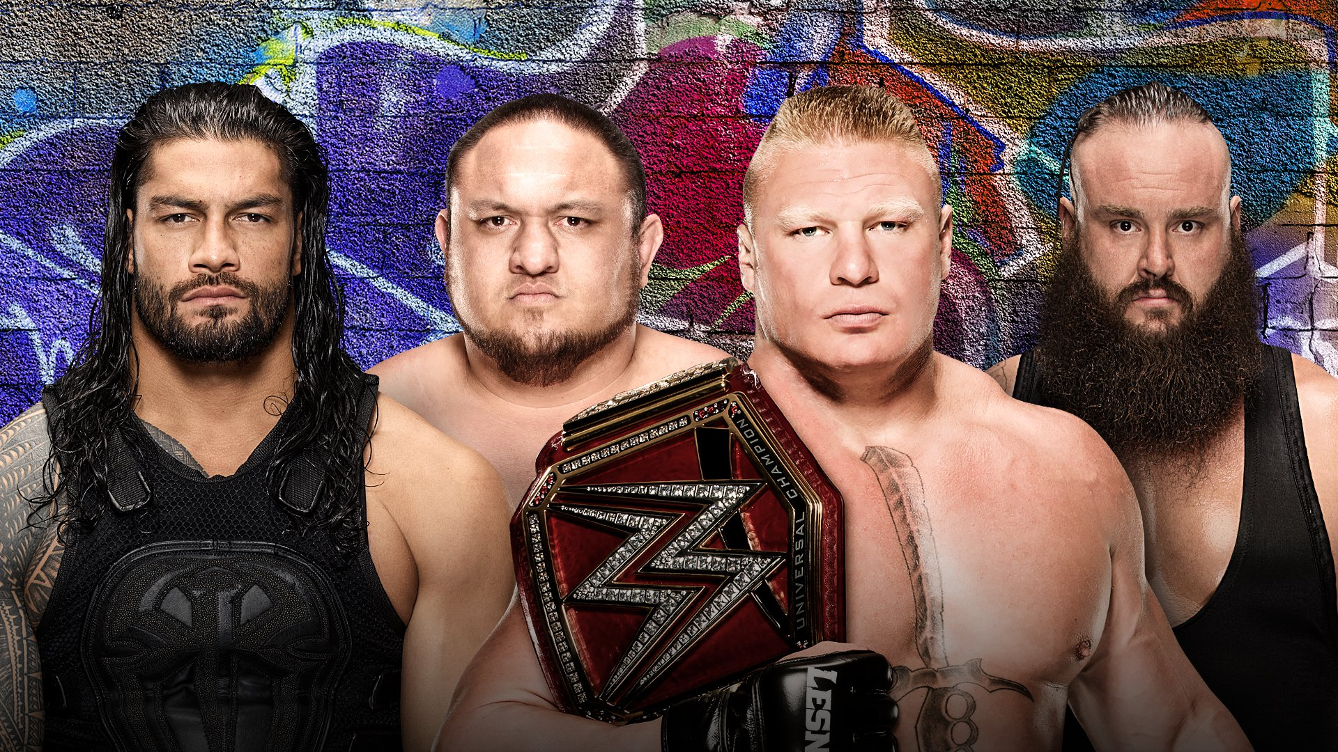 WWE SummerSlam 2017: Roman Reigns vs. Samoa Joe vs. Brock Lesnar vs. Braun Strowman