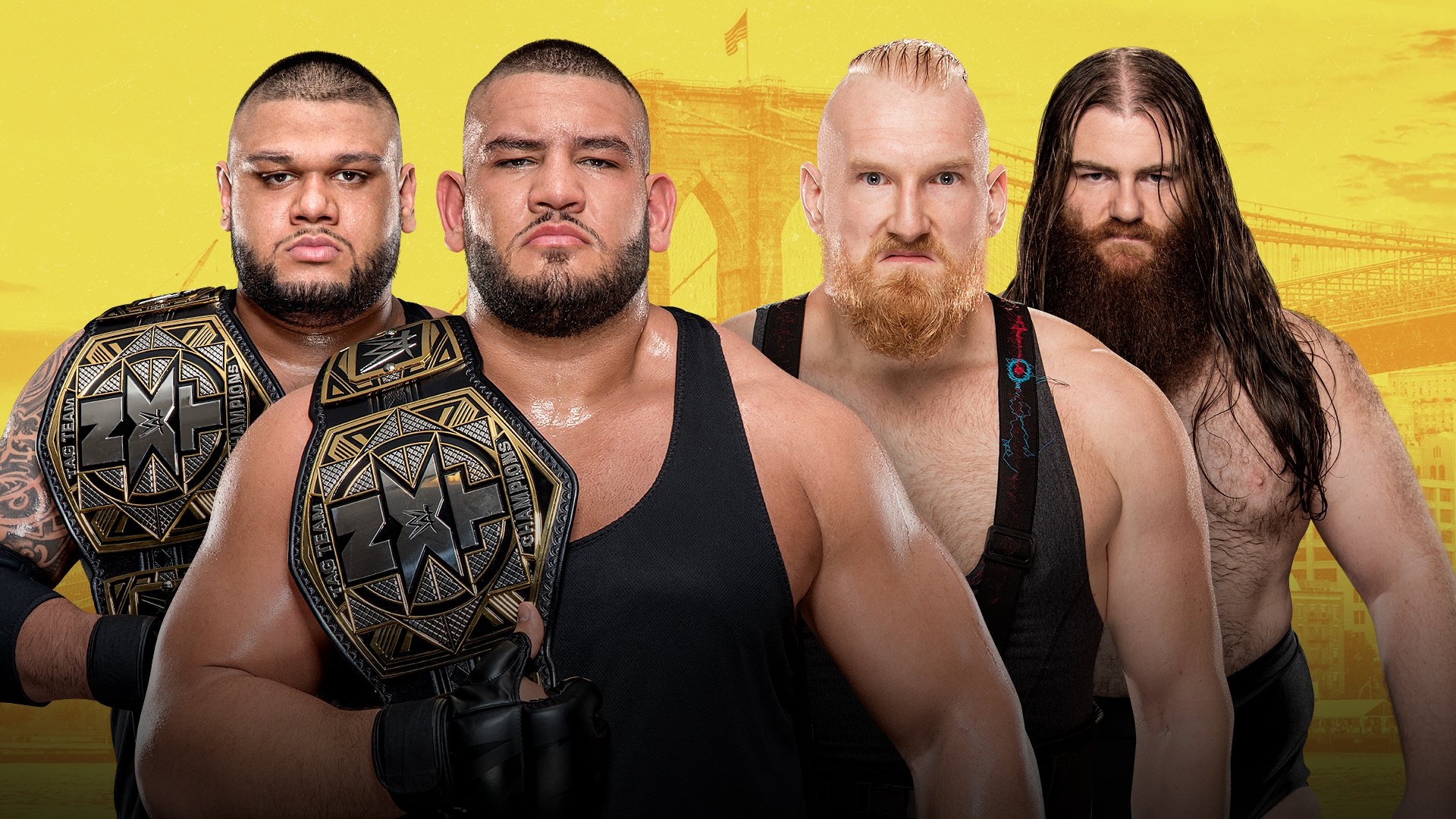 NXT TakeOver - Brooklyn III: Authors of Pain vs. Sanity