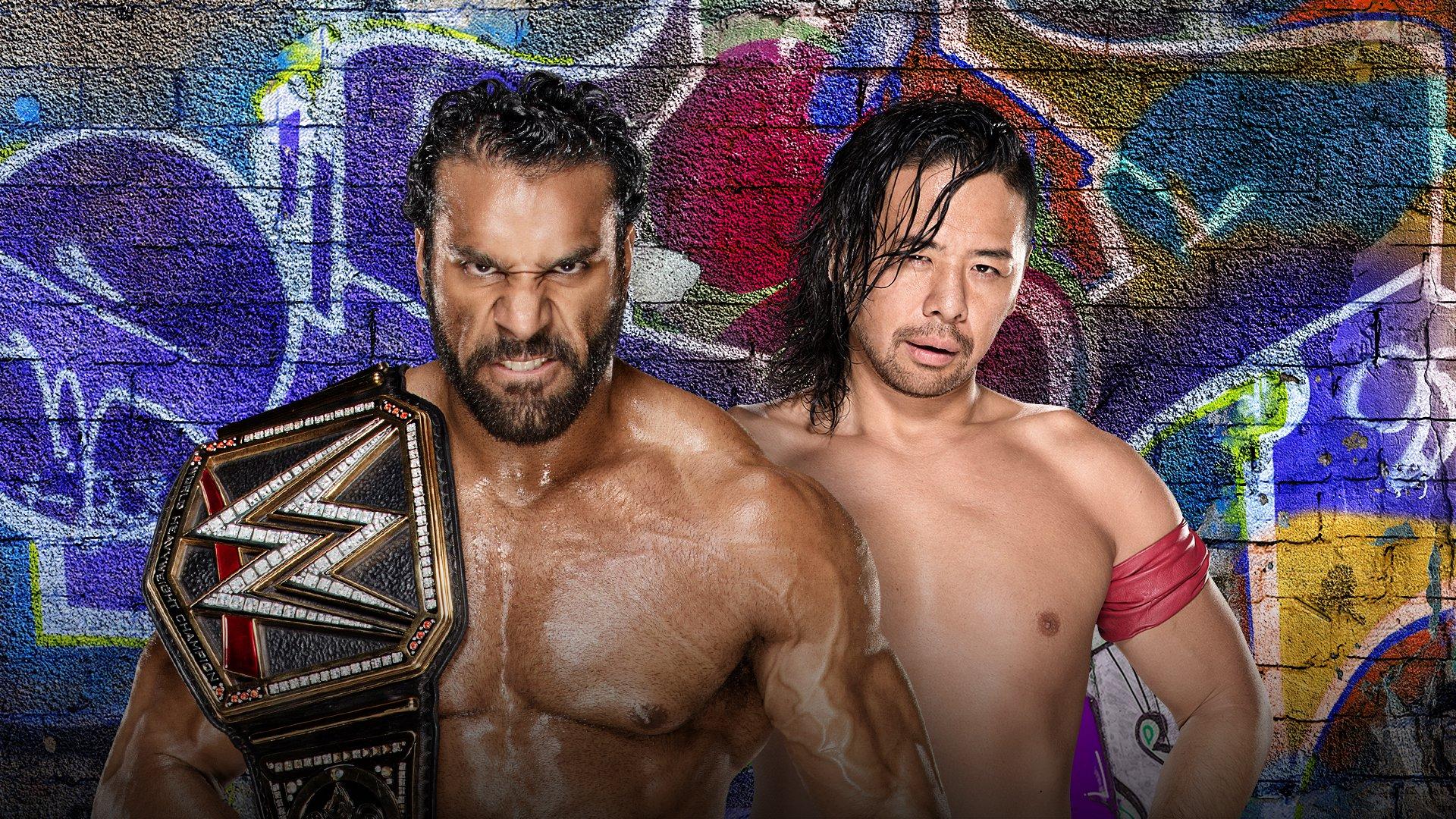 WWE SummerSlam 2017: Jinder Mahal vs. Shinsuke Nakamura