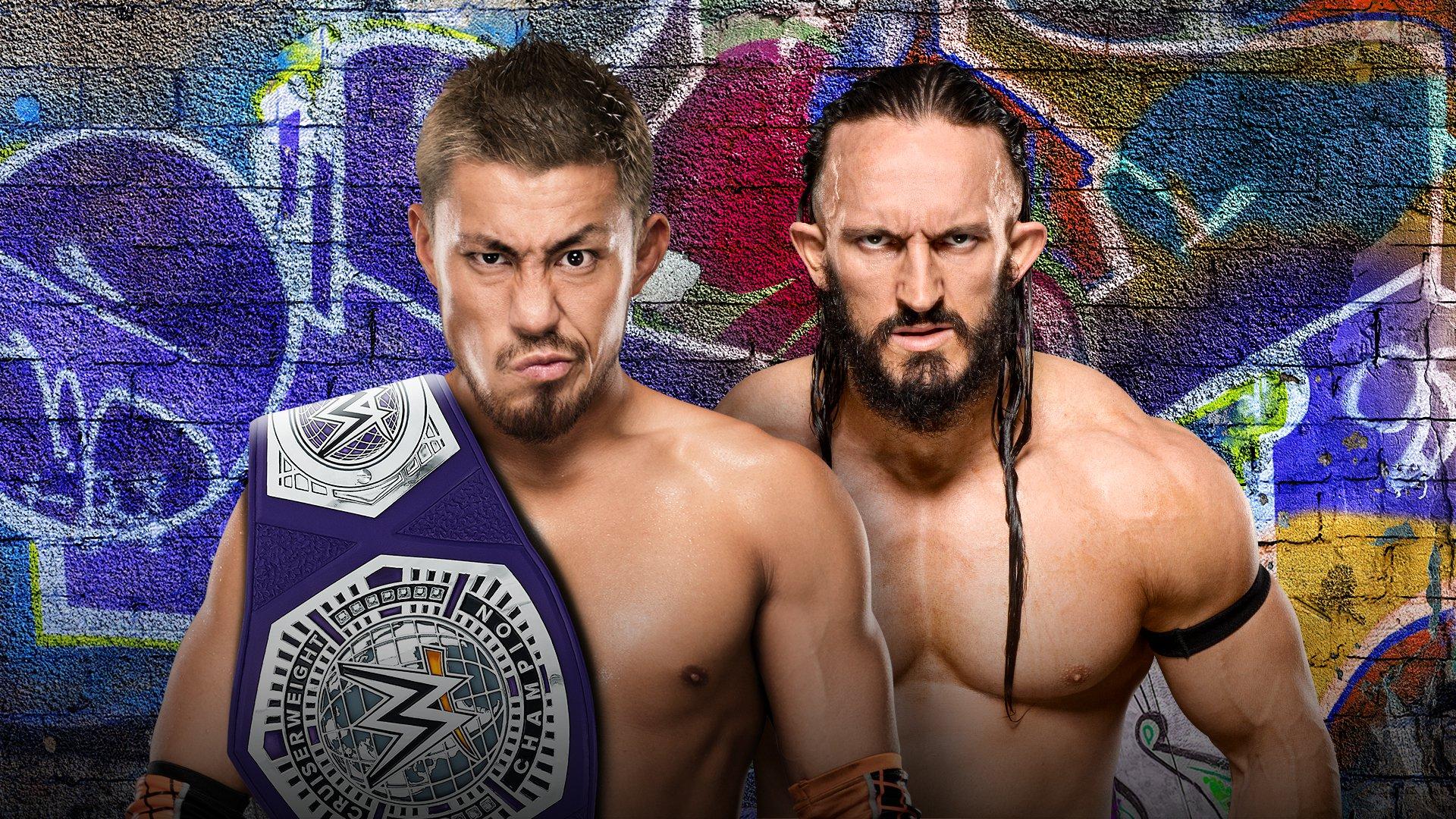 WWE SummerSlam 2017: Akira Tozawa vs. Neville