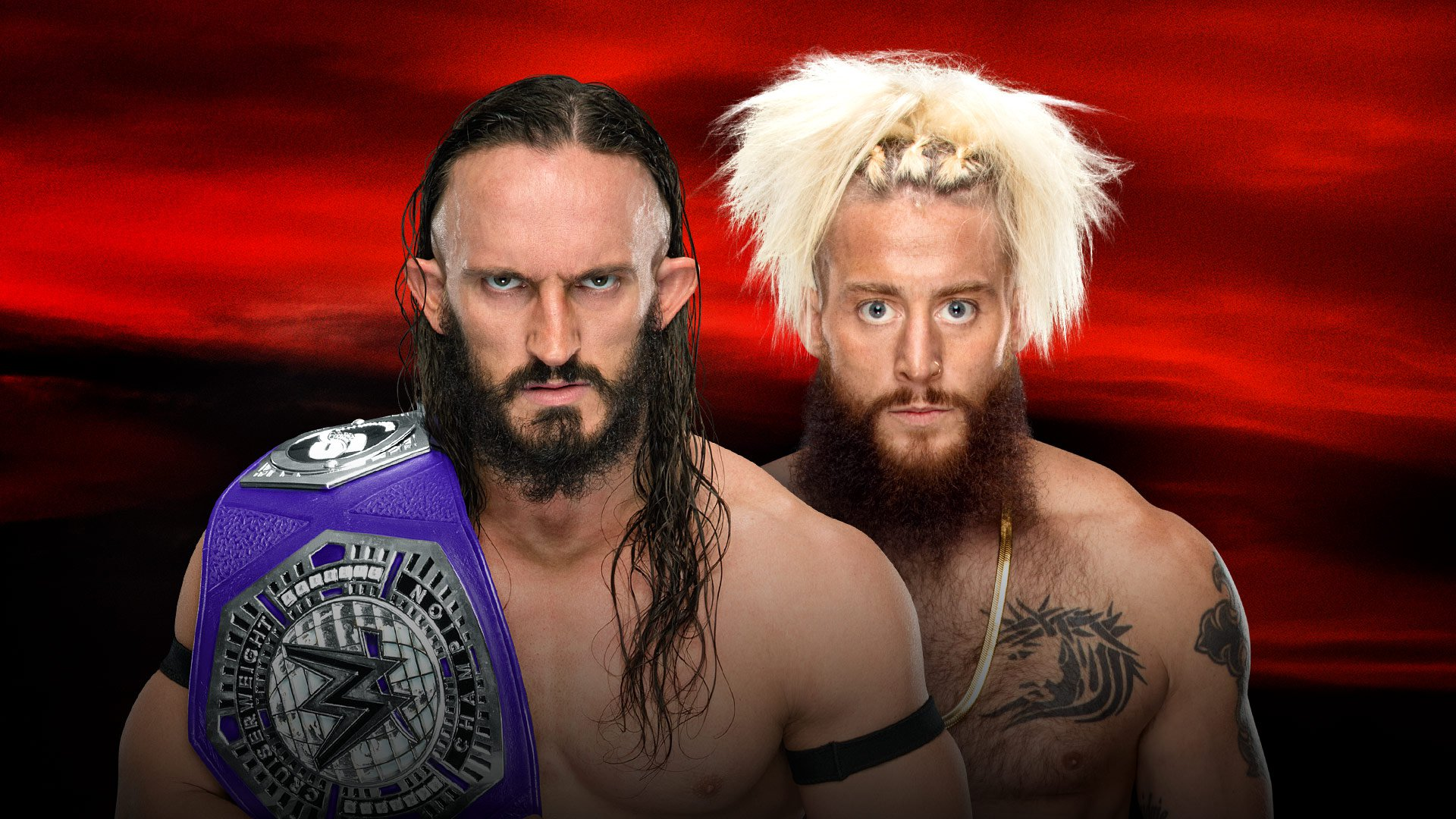 WWE No Mercy 2017: Neville vs. Enzo Amore