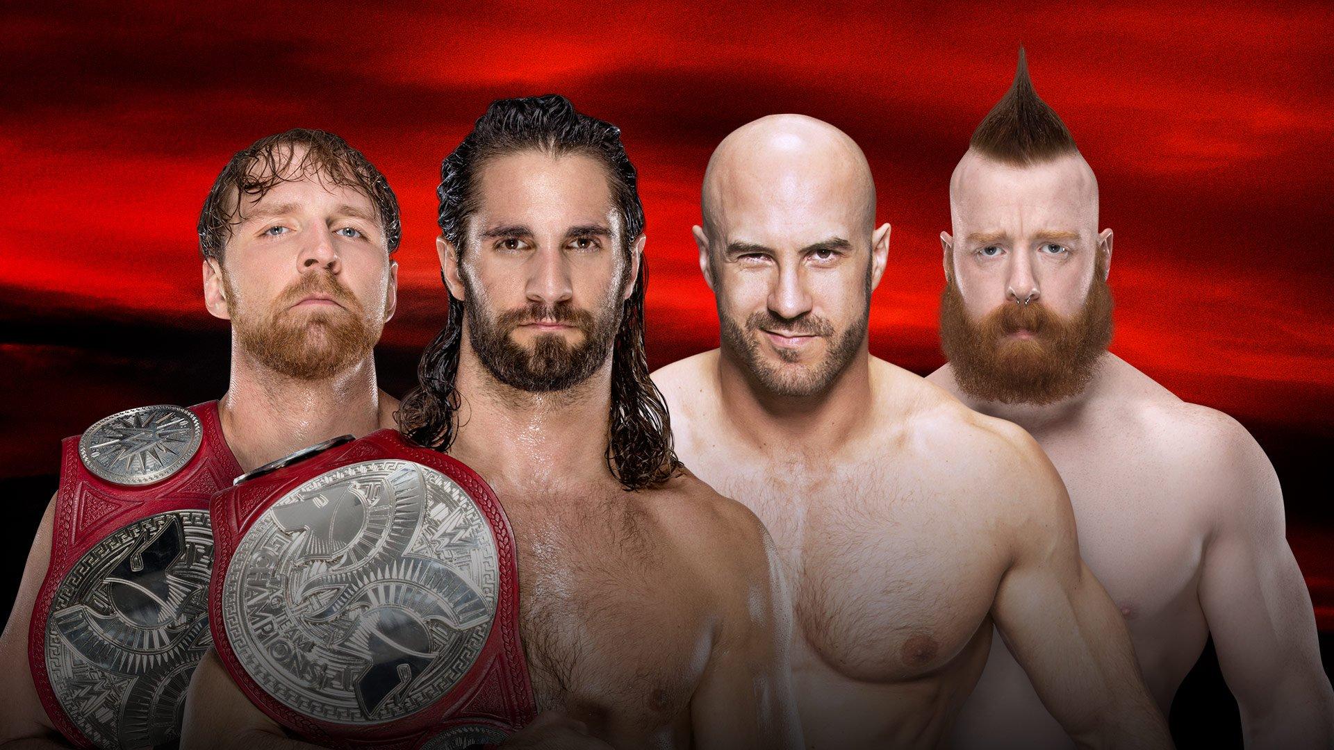 WWE No Mercy 2017: Dean Ambrose & Seth Rollins vs. Cesaro & Sheamus