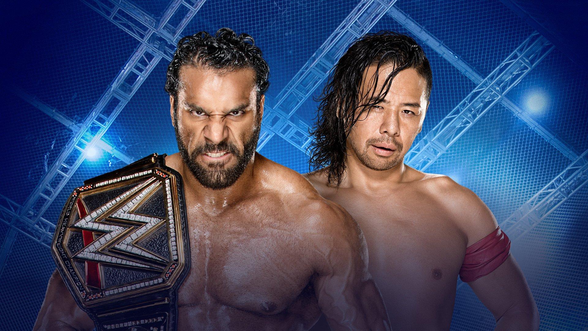 WWE Hell in a Cell 2017: Jinder Mahal vs. Shinsuke Nakamura