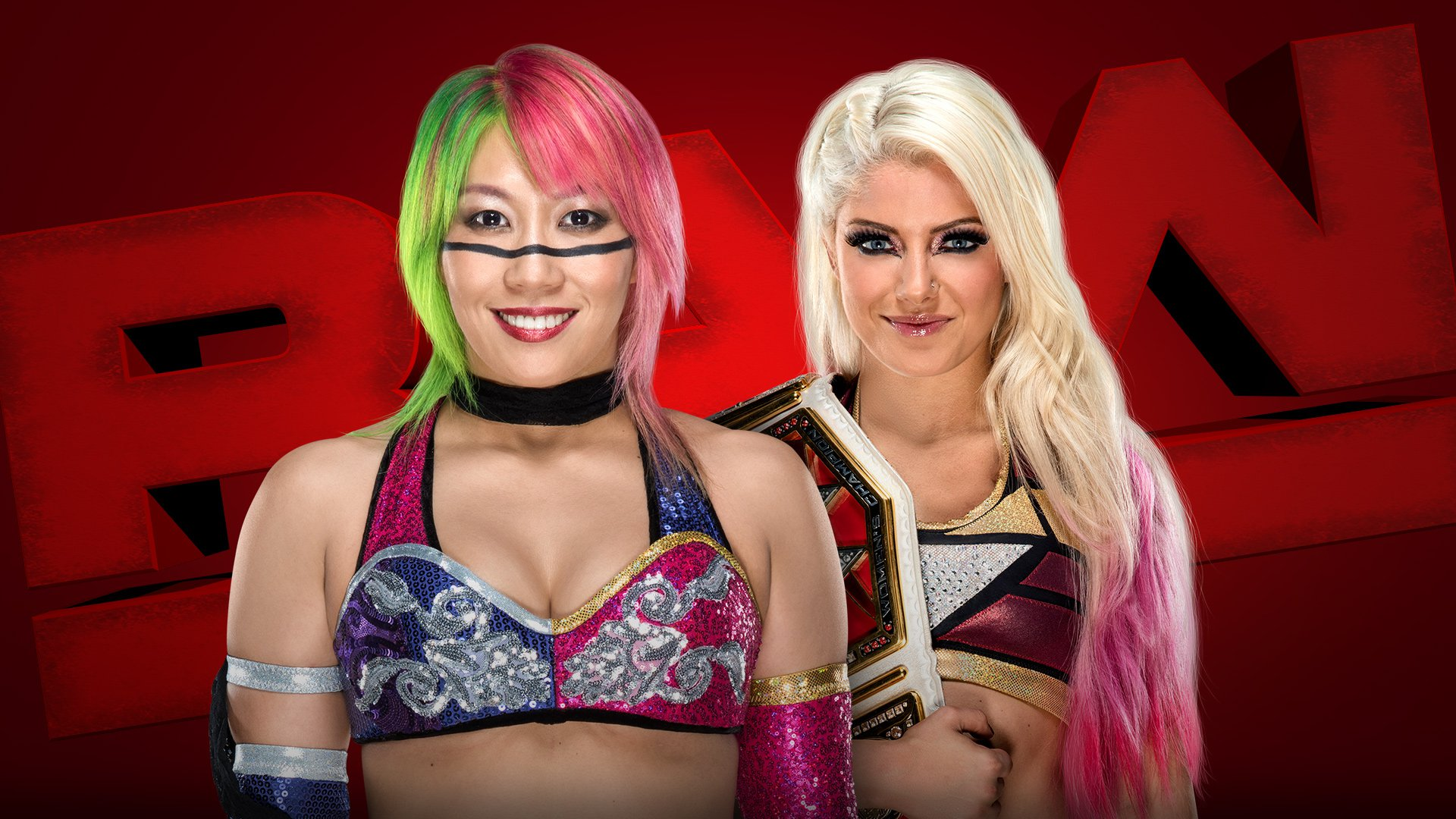 Asuka vs. Alexa Bliss