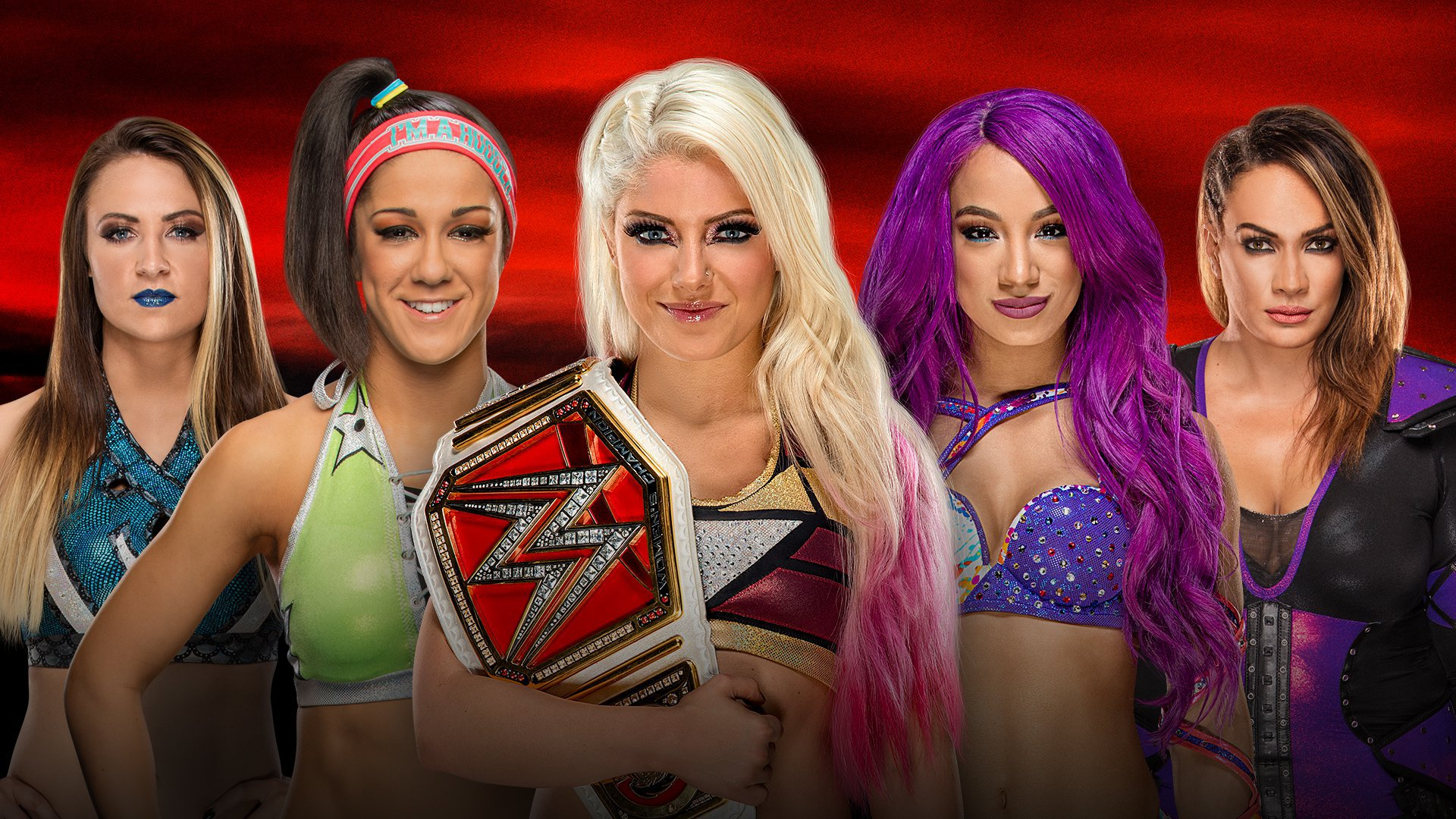 WWE No Mercy 2017: Emma vs. Bayley vs. Alexa Bliss vs. Sasha Banks vs. Nia Jax