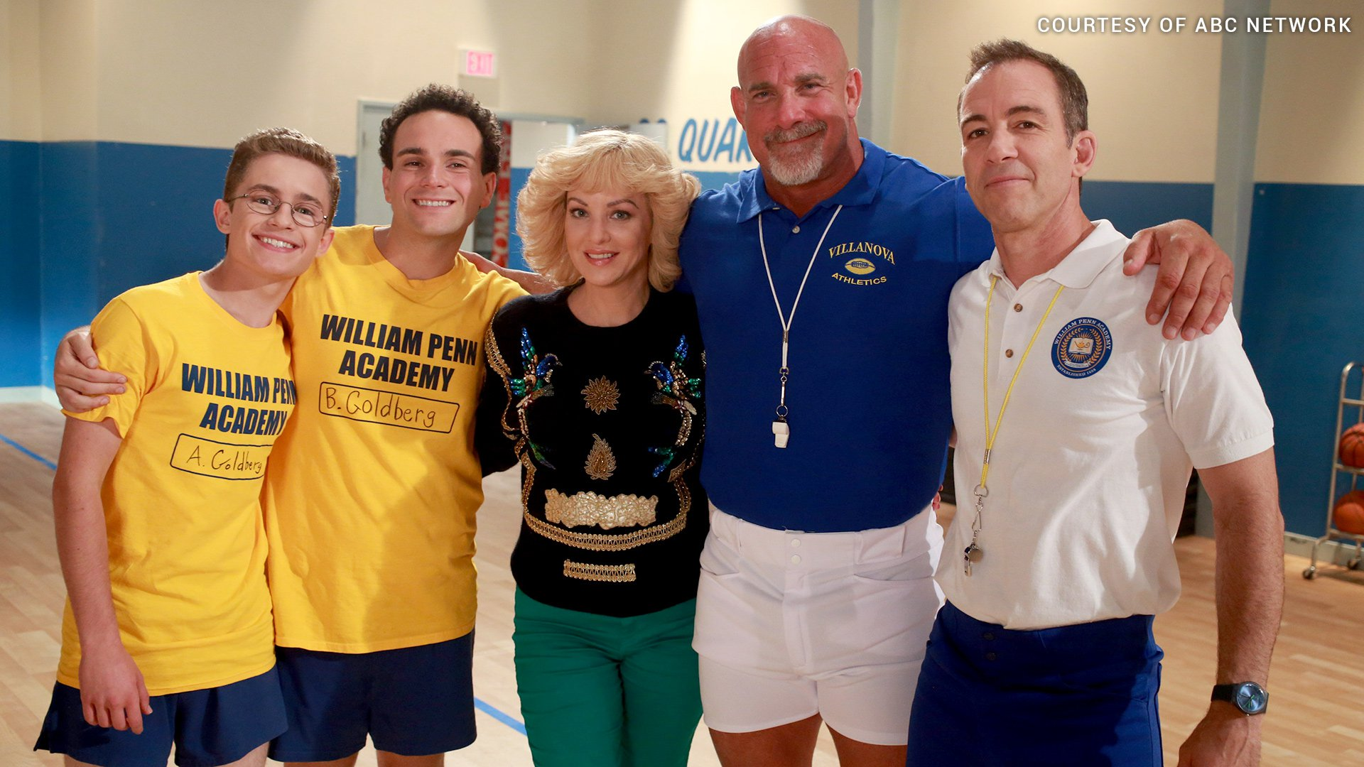 """Goldberg made a special appearance on ABC's """"The Goldbergs"""" as the intimidating Coach Nick."""