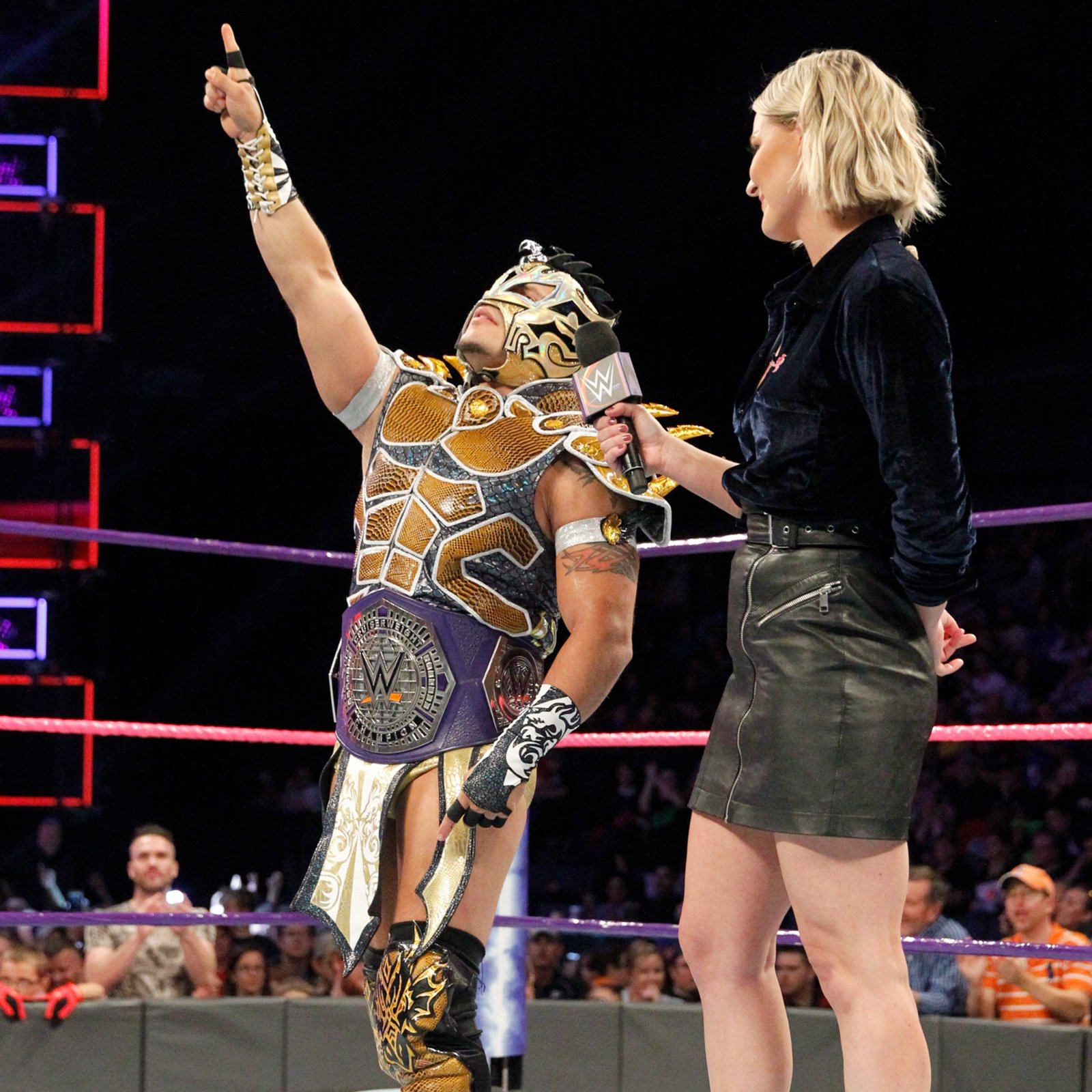 Enzo Amore confronts Kalisto