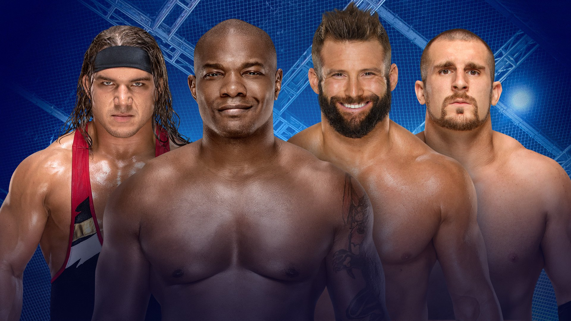 WWE Hell in a Cell 2017: Chad Gable & Shelton Benjamin vs. The Hype Bros