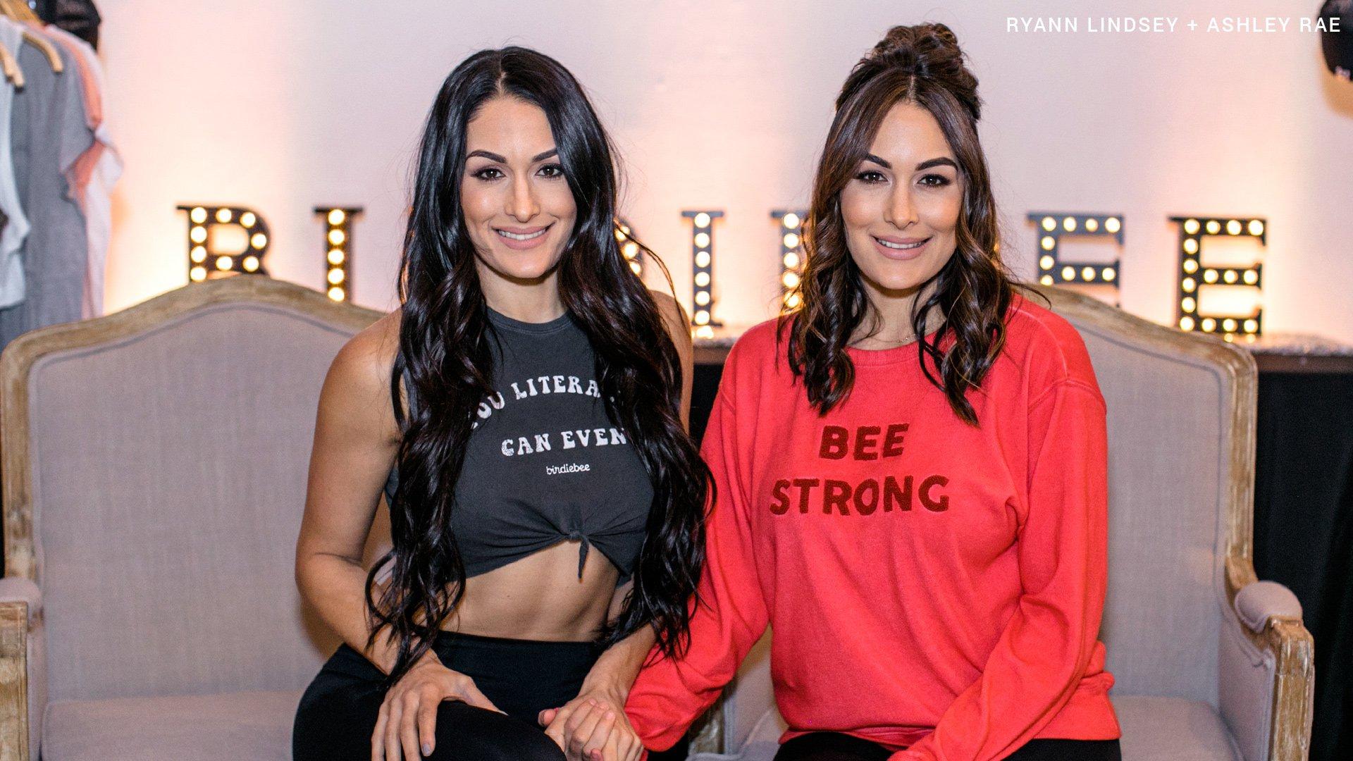 The Bella Twins celebrate the Birdiebee launch: photos