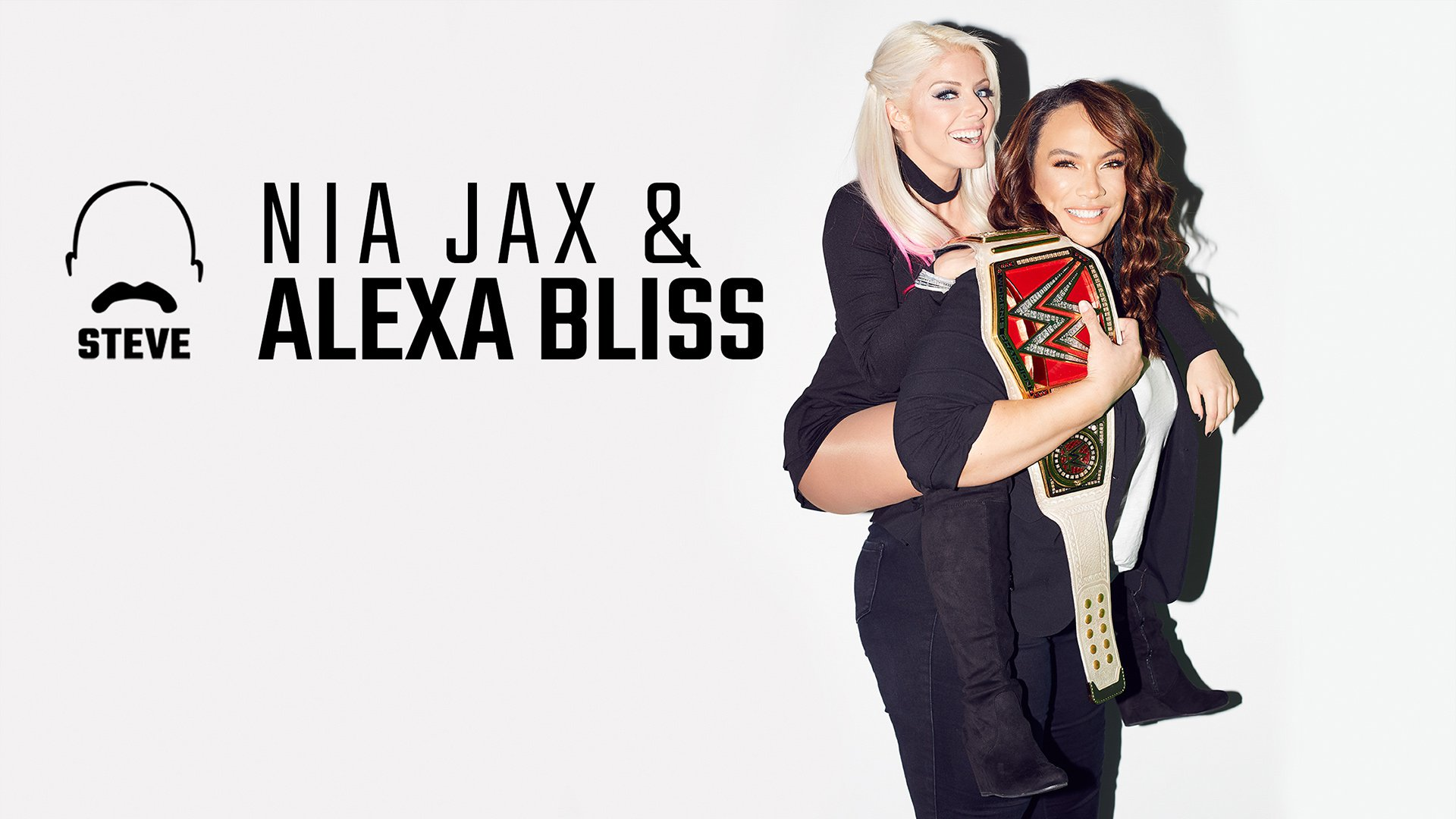 Nia Jax and Alexa Bliss chat with Steve Harvey: photos