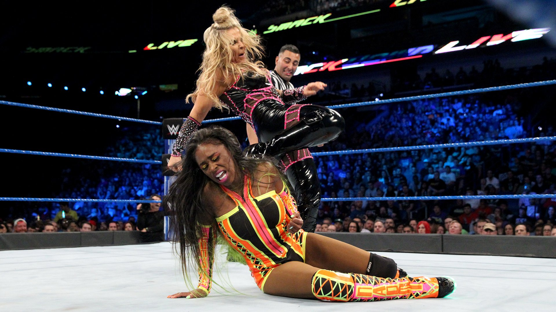 Naomi vs. Natalya: photos
