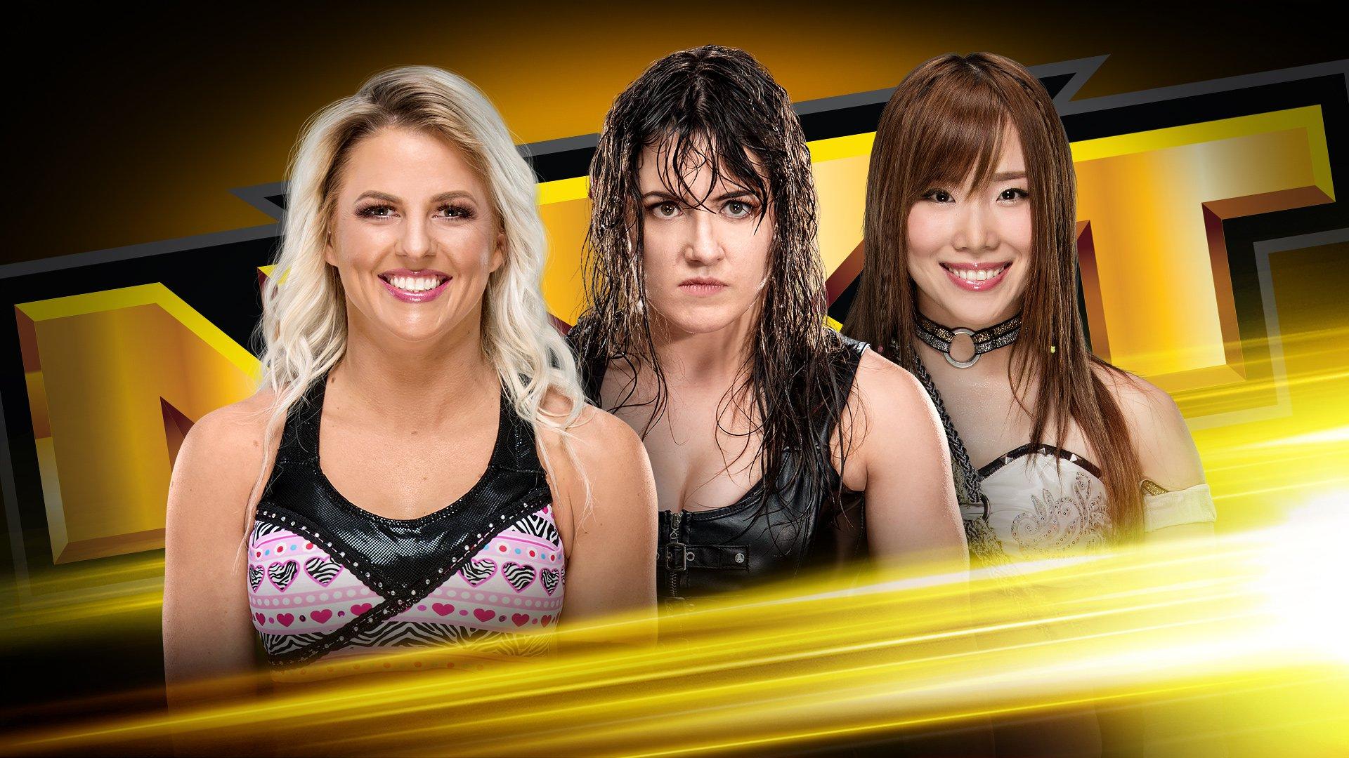 Triple Threat Match confirmada para o próximo WWE NXT