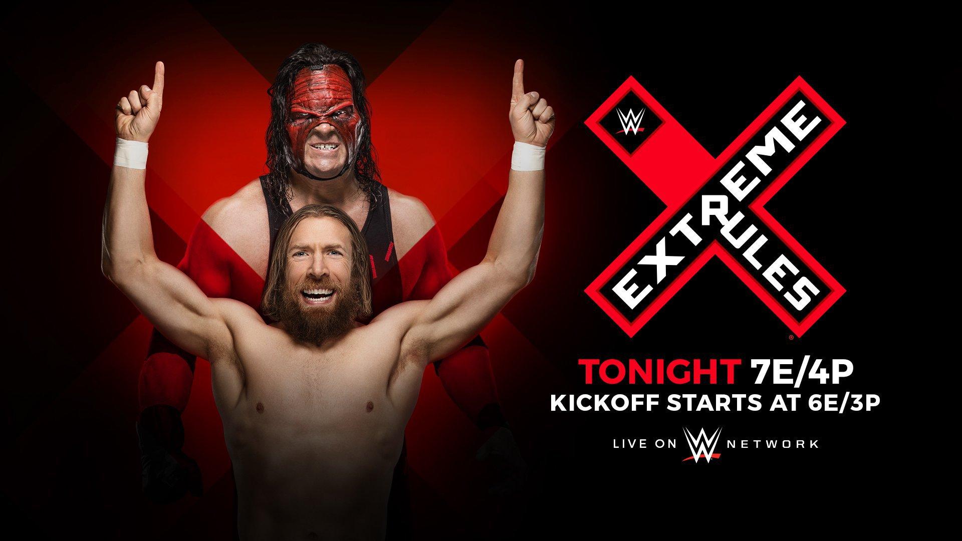 Grande nome aparecendo no WWE Extreme Rules desta noite?