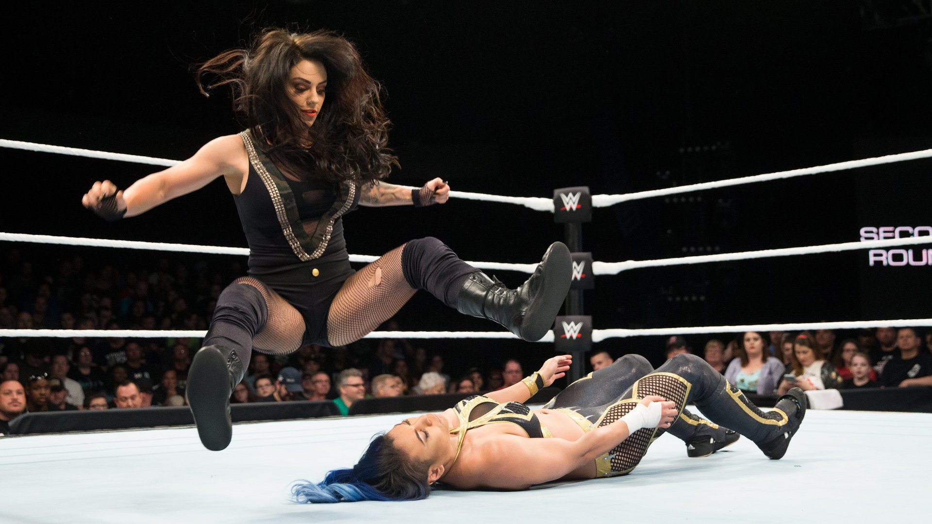 Kaitlyn imposes her will against Mia Yim in an attempt to secure her place in the Mae Young Classic Quarterfinals.
