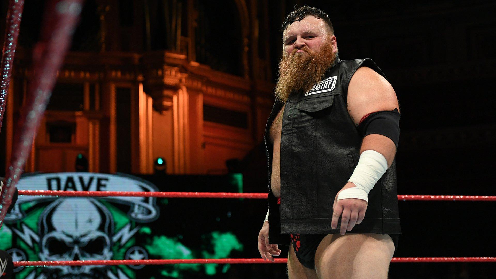 WWE NXT UK Superstar Dave Mastiff gets married - News AKMI
