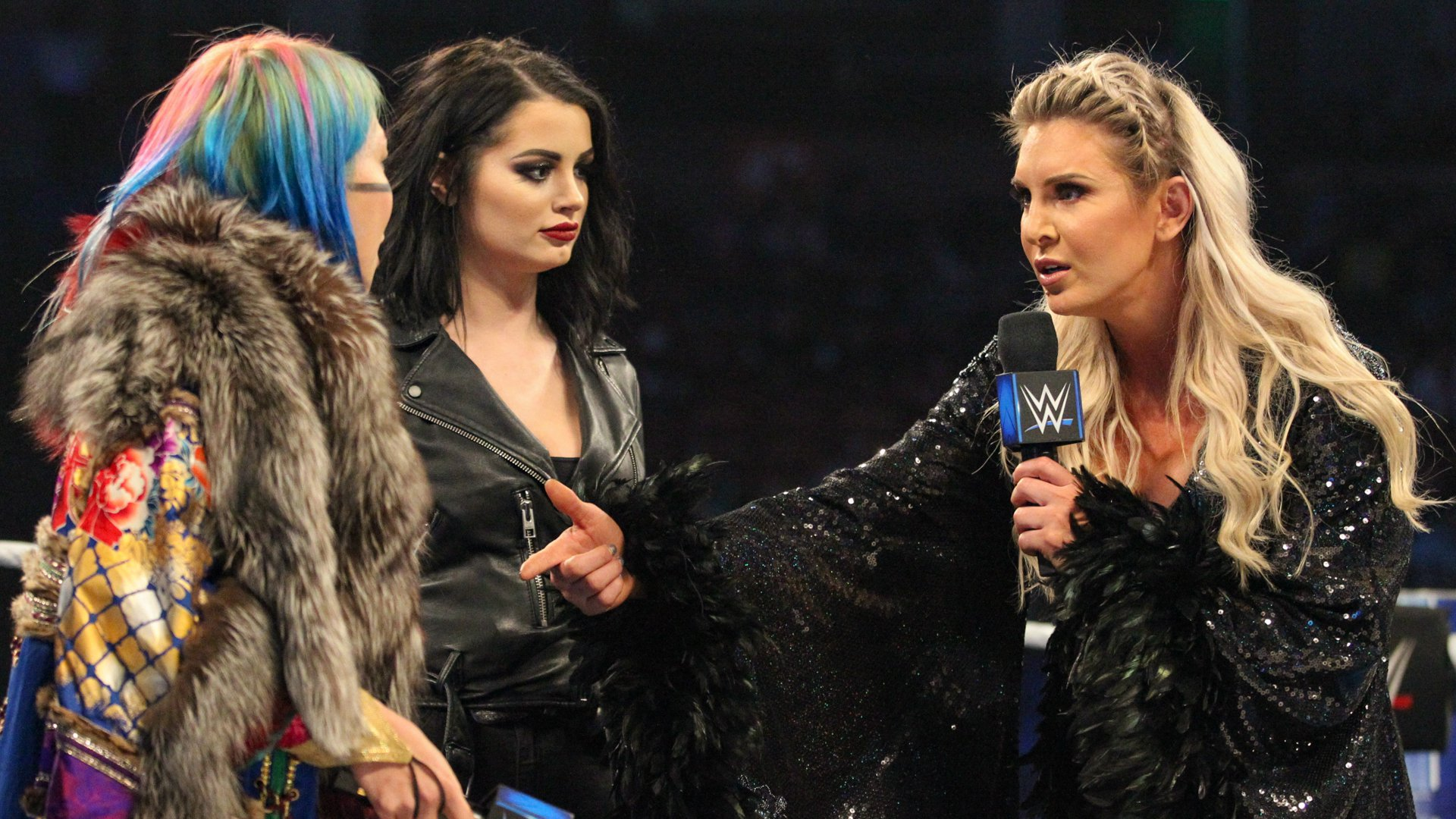 Charlotte recalls when she beat Asuka at WrestleMania and beat her streak.