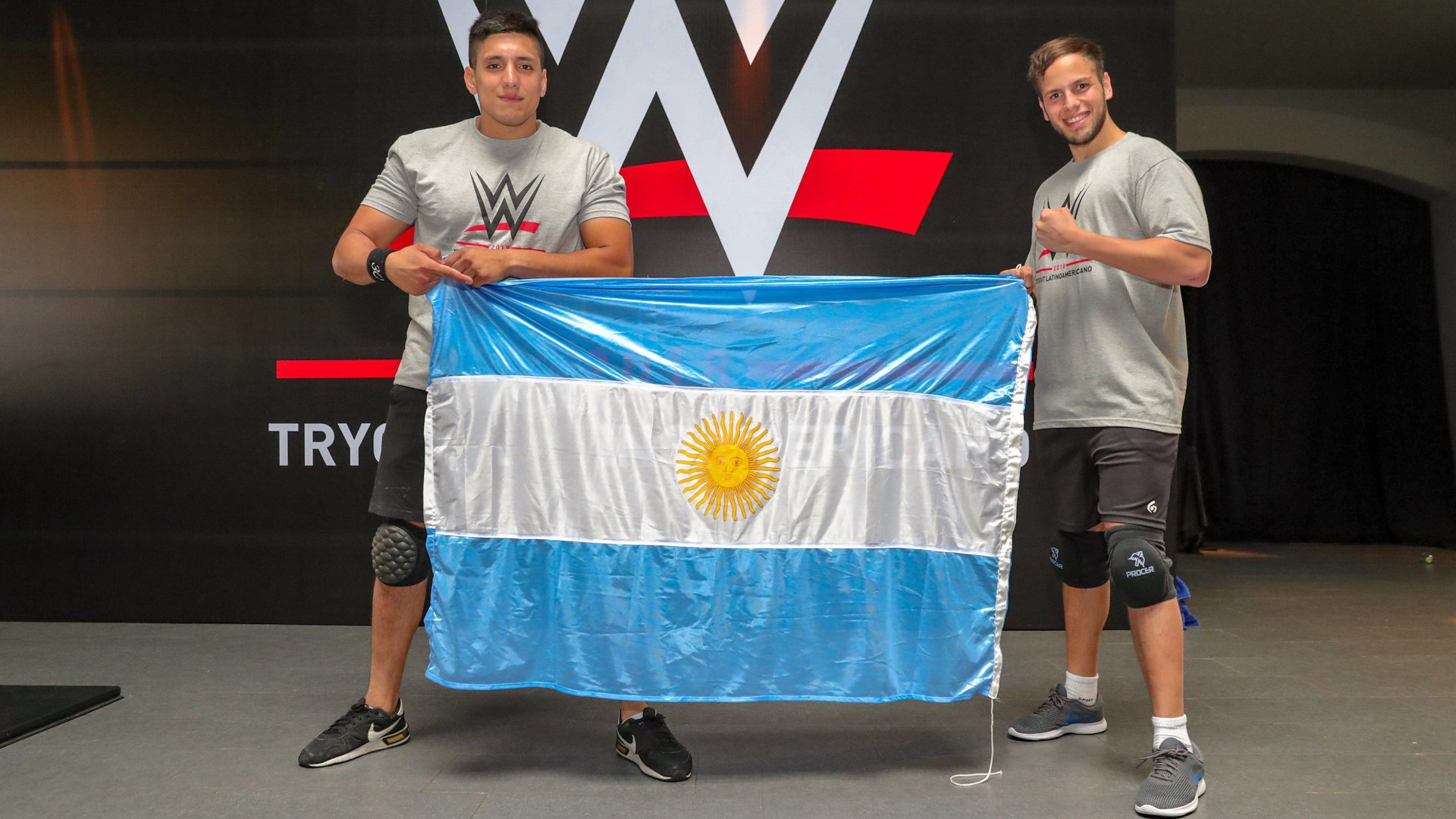 Argentina, the home country of one of WWE's most popular Superstars of all time in Antonino Rocca, has two athletes at the camp, Juan Salvatierra and Matias Dragonetti. They wrestle under the aliases of Django and Benjamin Stolo, respectively.