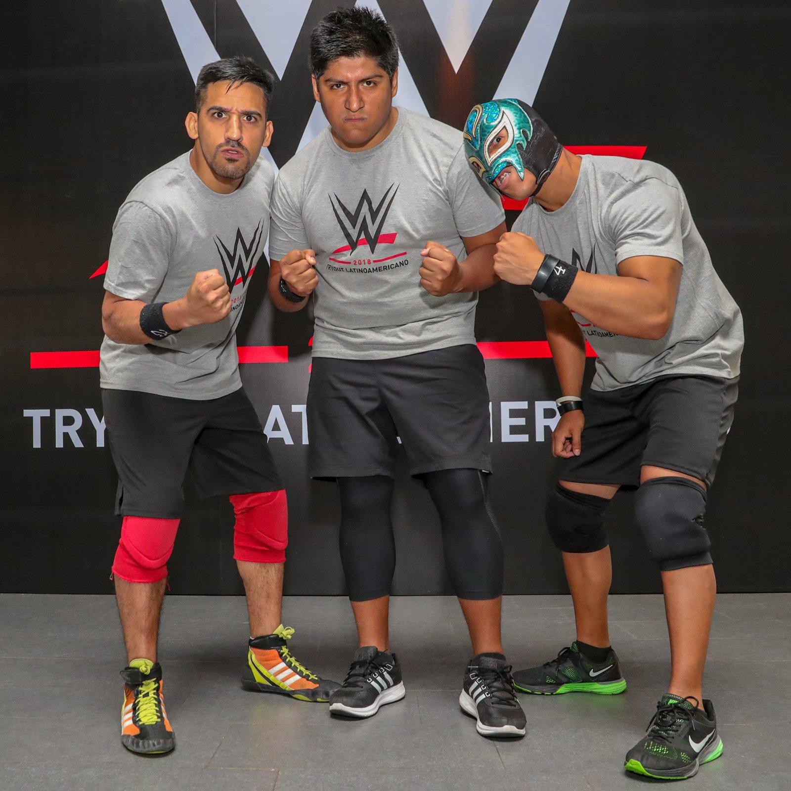 """AXL"" Carlos Héctor Román Ruíz, Daniel Mansilla and Reptil hail from Peru."