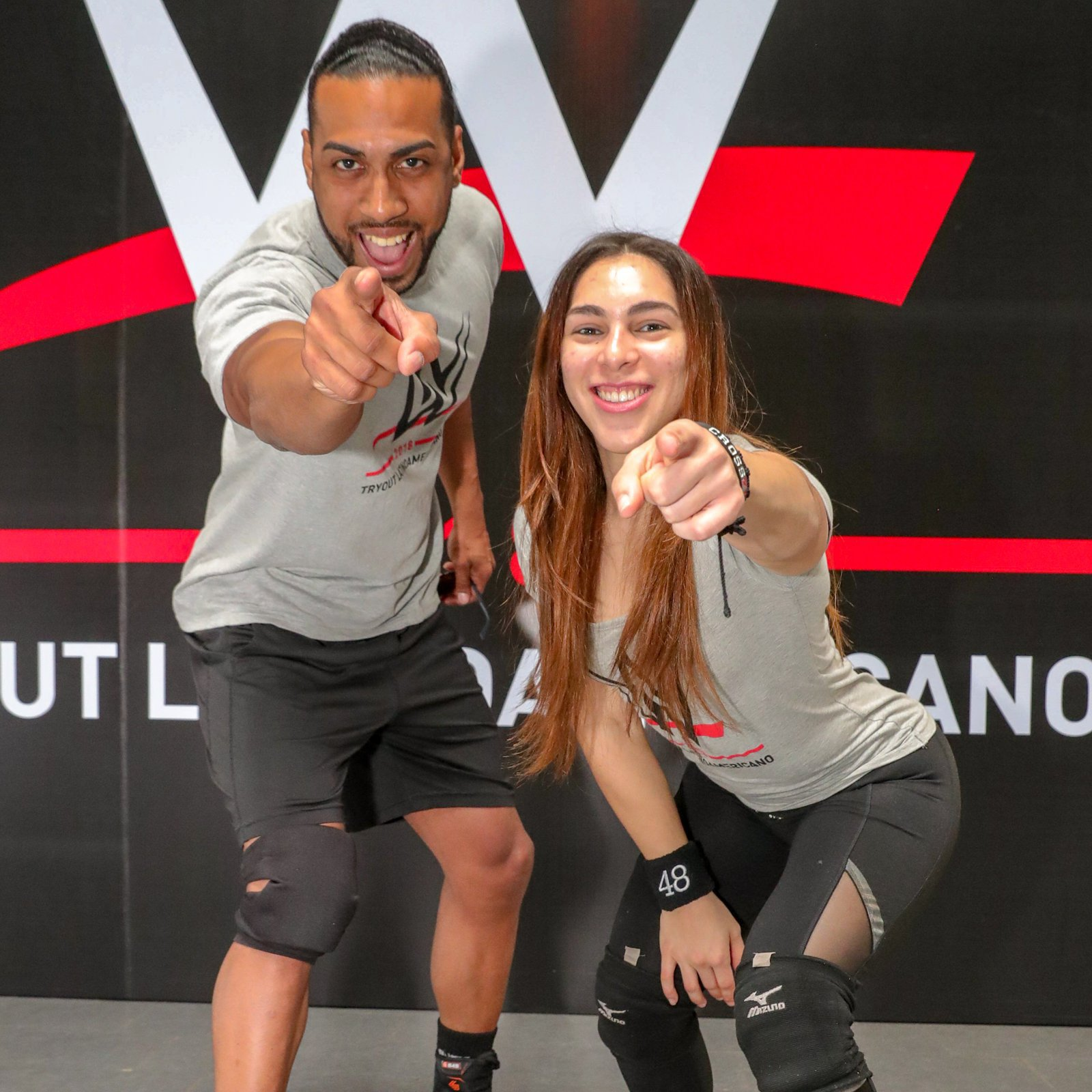"Ángel Luis Pérez (aka Angel Fashion) and Jenyvalice ""Vanilla"" Vargas represent the island of Puerto Rico."