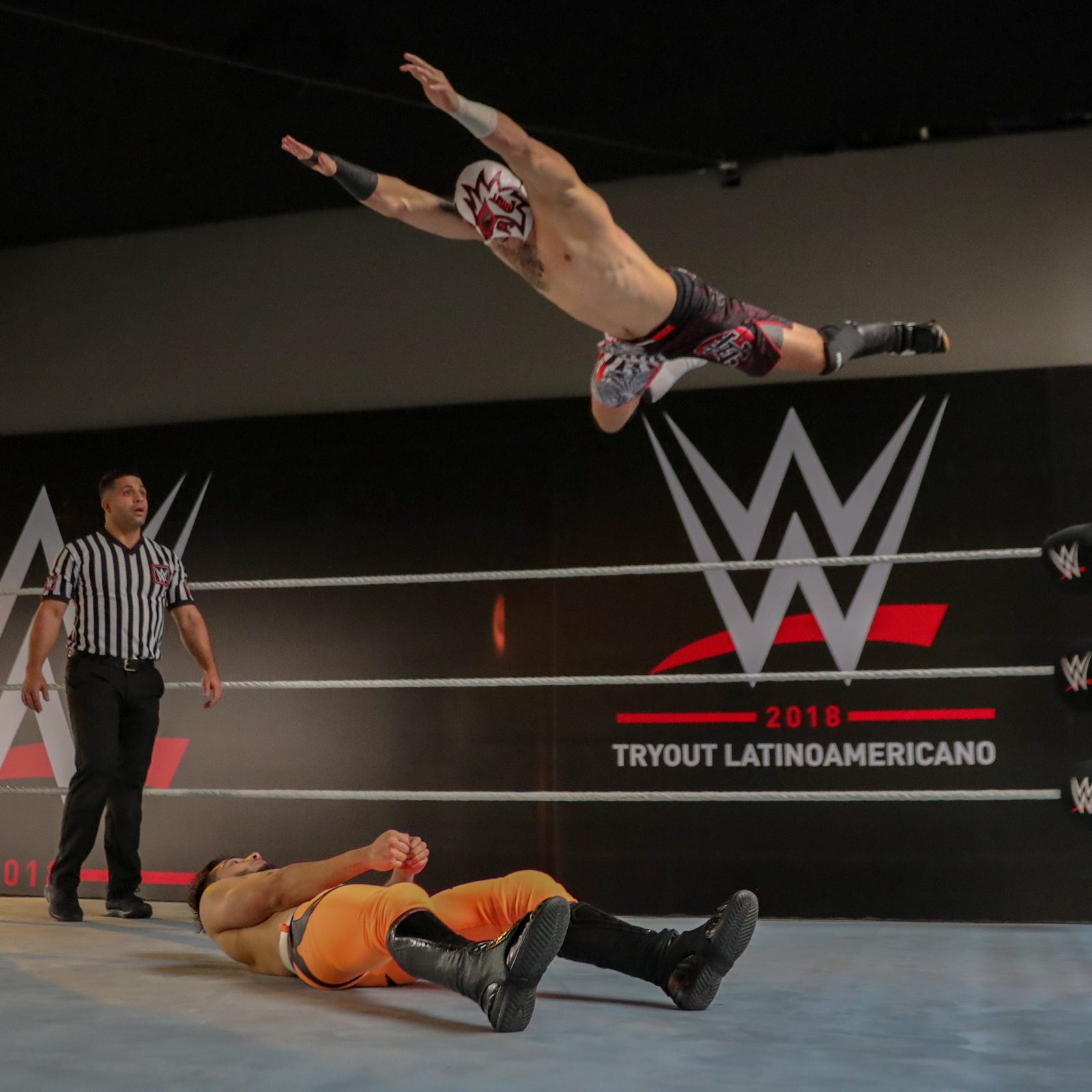 With a potential WWE contract opportunity at stake, the prospects don't hesitate to put it all on the line.