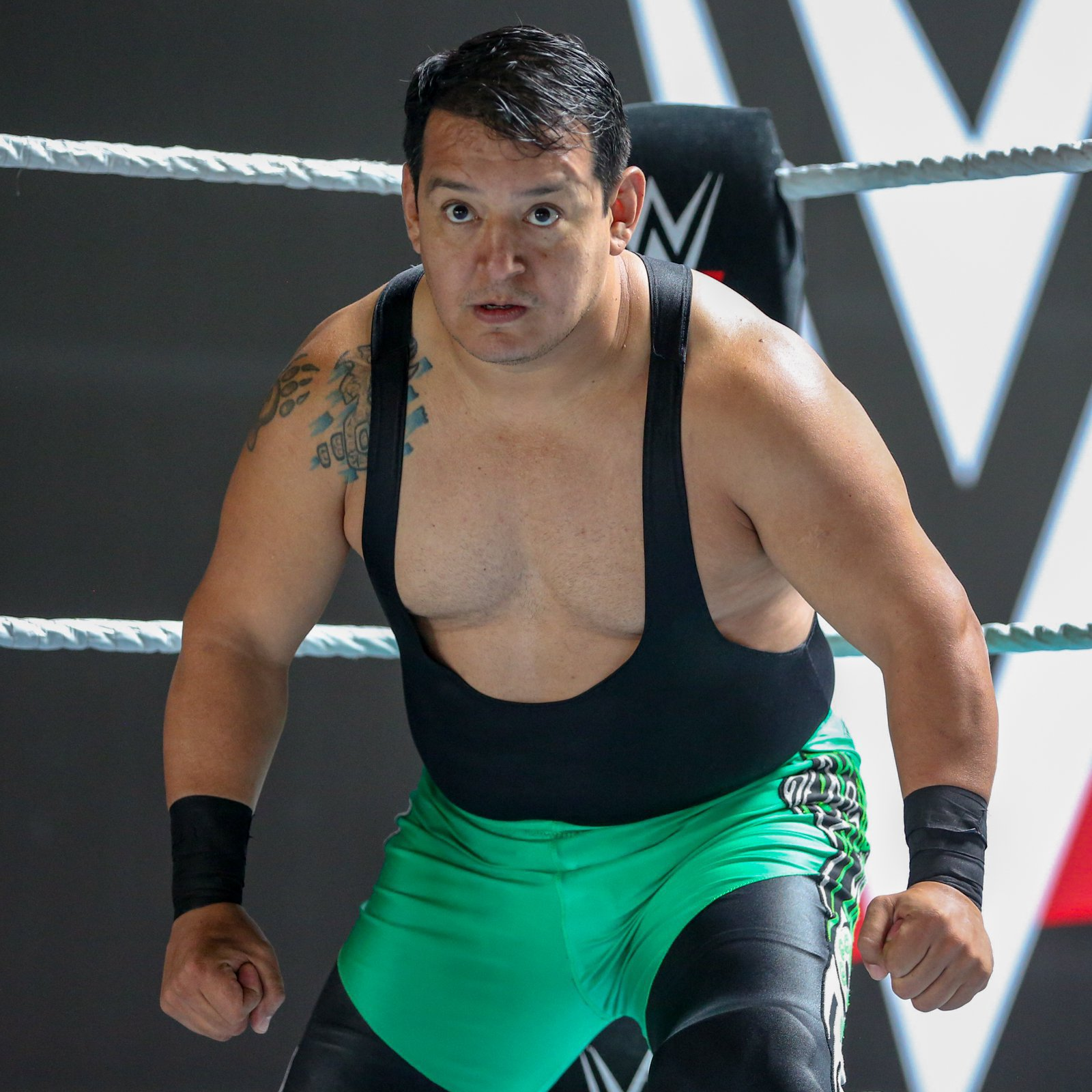 Ricky Marvin has won wrestling titles throughout the world, but perhaps no moment in his prestigious career carries the same importance as this WWE tryout.