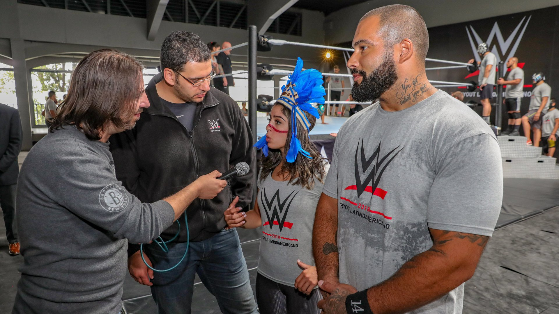WWE's talent development arm has held several international tryouts this year, including in Jeddah, Saudi Arabia, and Cologne, Germany.