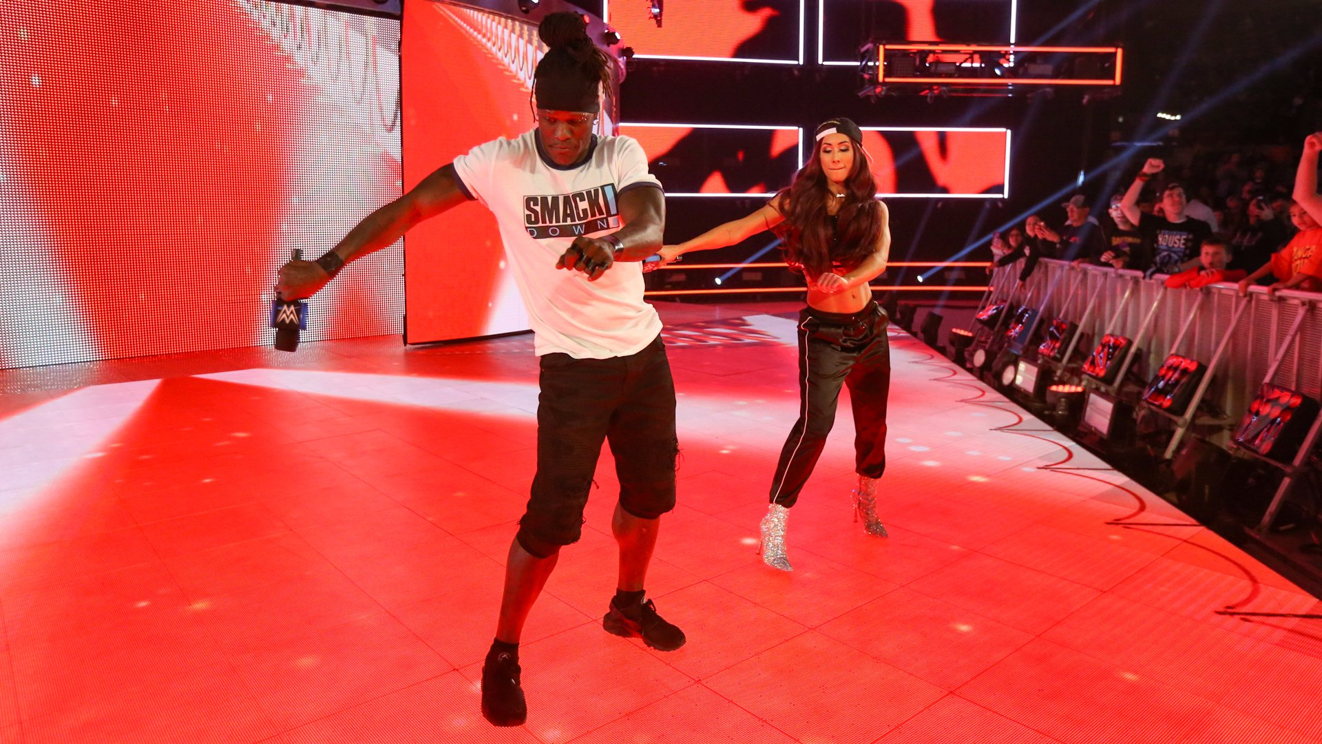 R-Truth and Carmella interrupt The A-Lister for their trademark dance break!