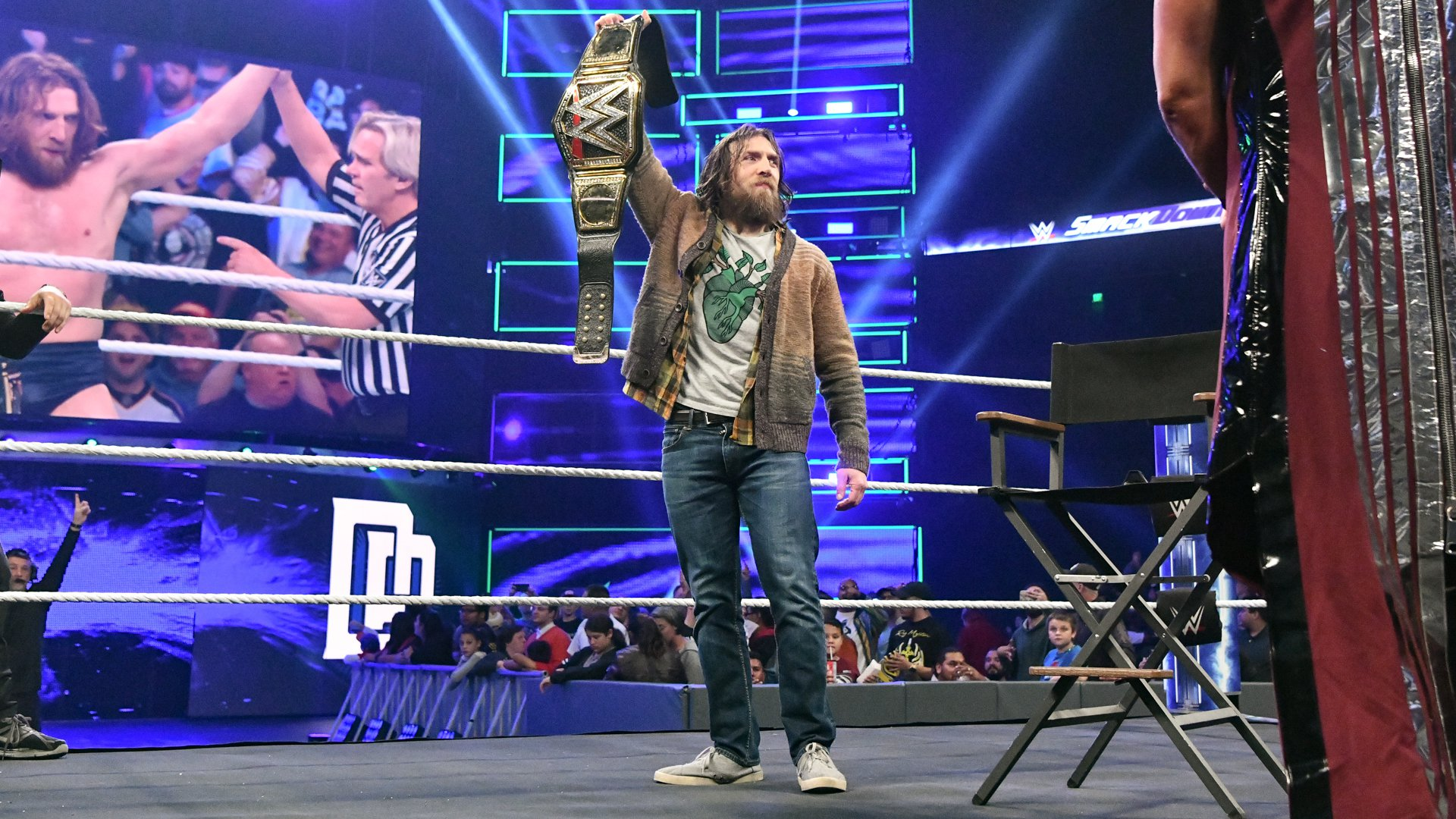 ... WWE Champion Daniel Bryan!