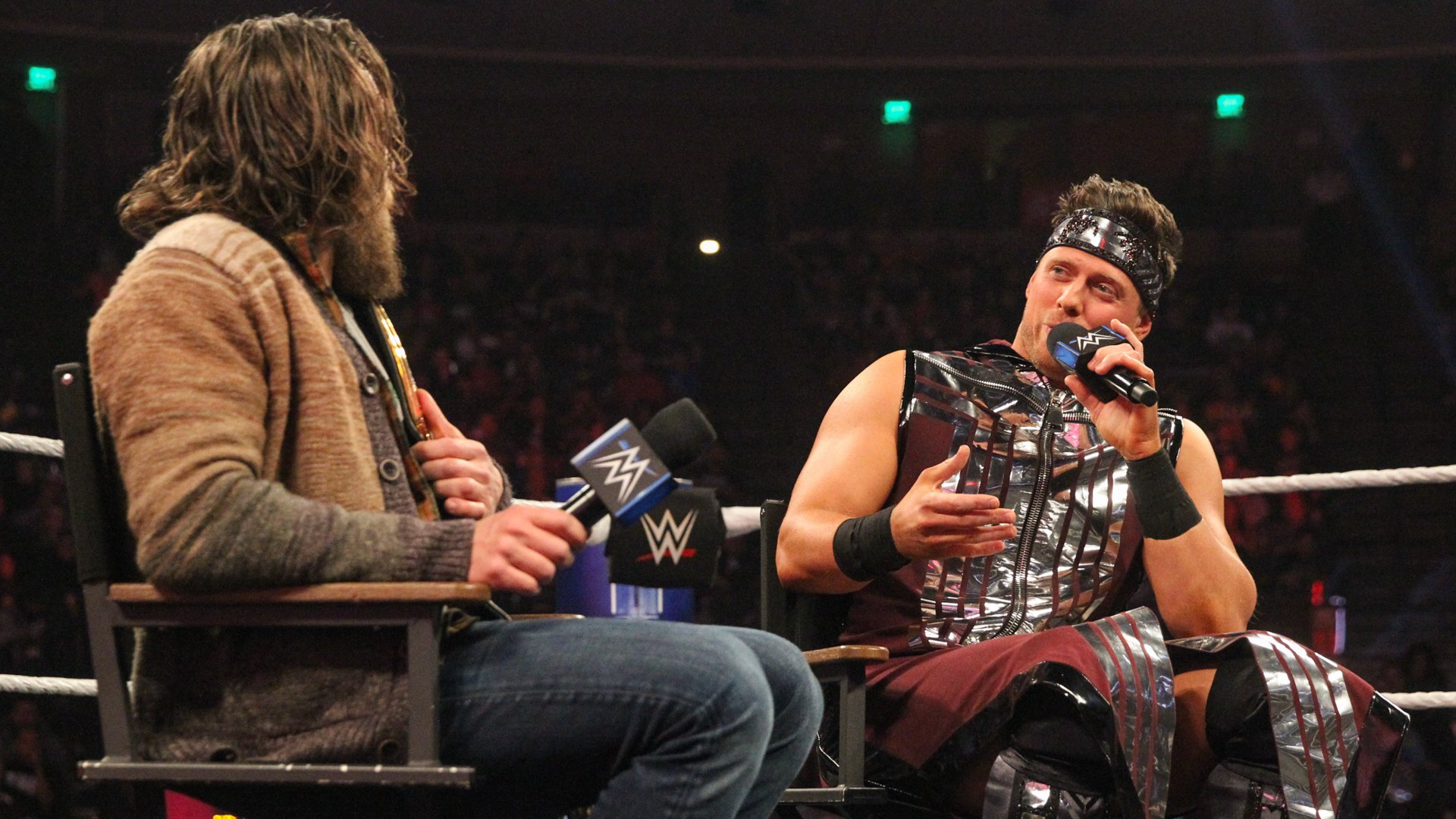 Miz thinks it seems like Bryan doesn't care about what the WWE Universe thinks, and he believes Bryan has realized that Miz was right all along.